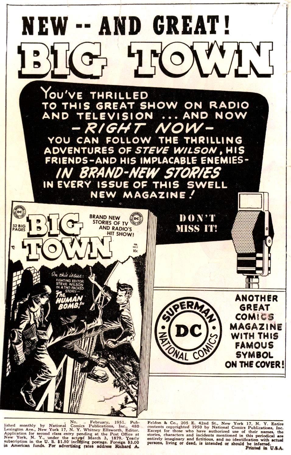 Read online Adventure Comics (1938) comic -  Issue #161 - 2