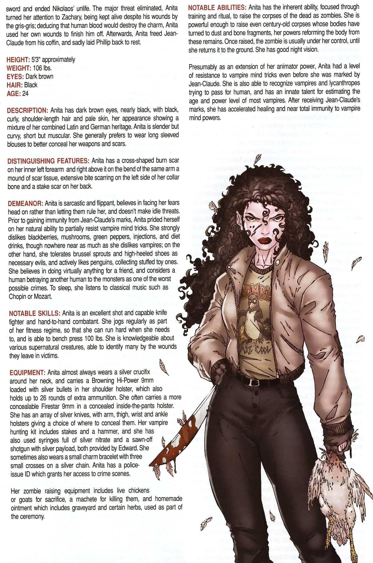 Read online Anita Blake, Vampire Hunter: Guilty Pleasures Handbook comic -  Issue #Anita Blake, Vampire Hunter: Guilty Pleasures Handbook Full - 10