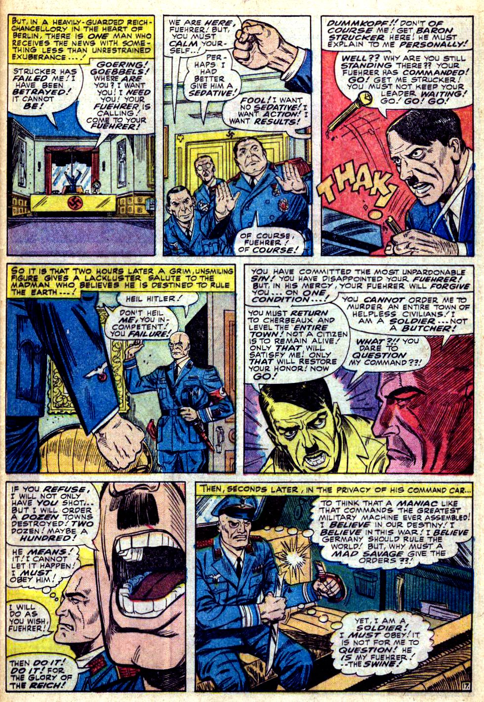 Read online Sgt. Fury comic -  Issue #28 - 25