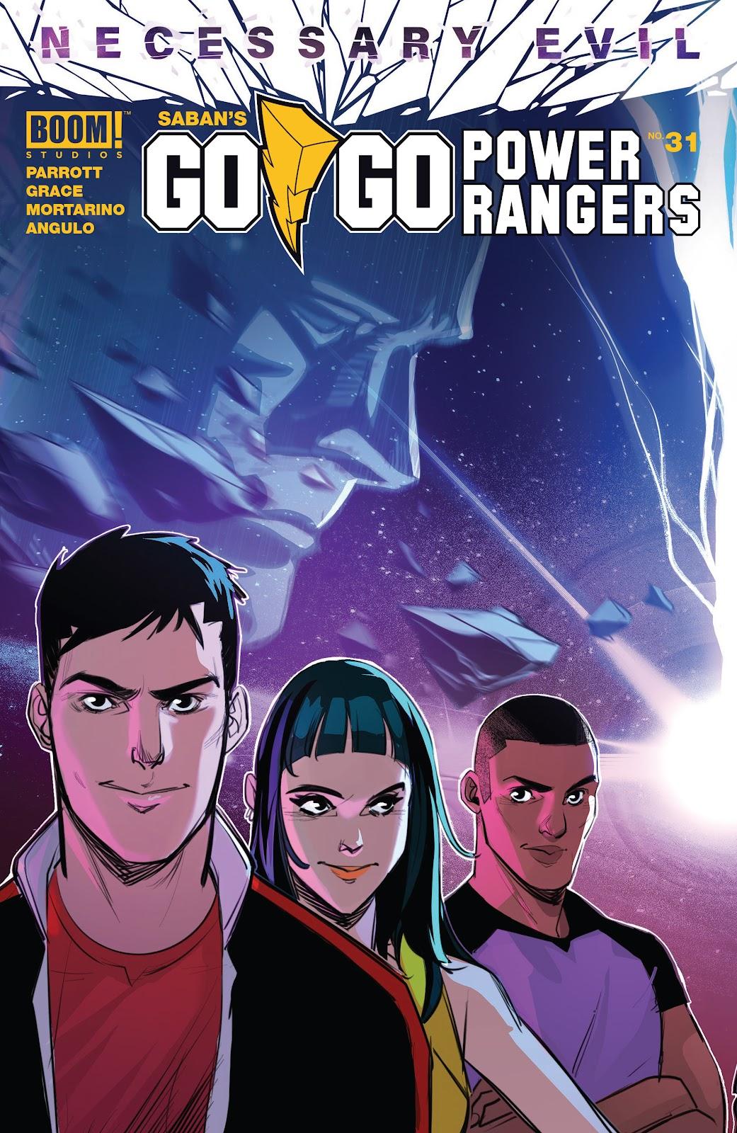 Sabans Go Go Power Rangers 31 Page 1