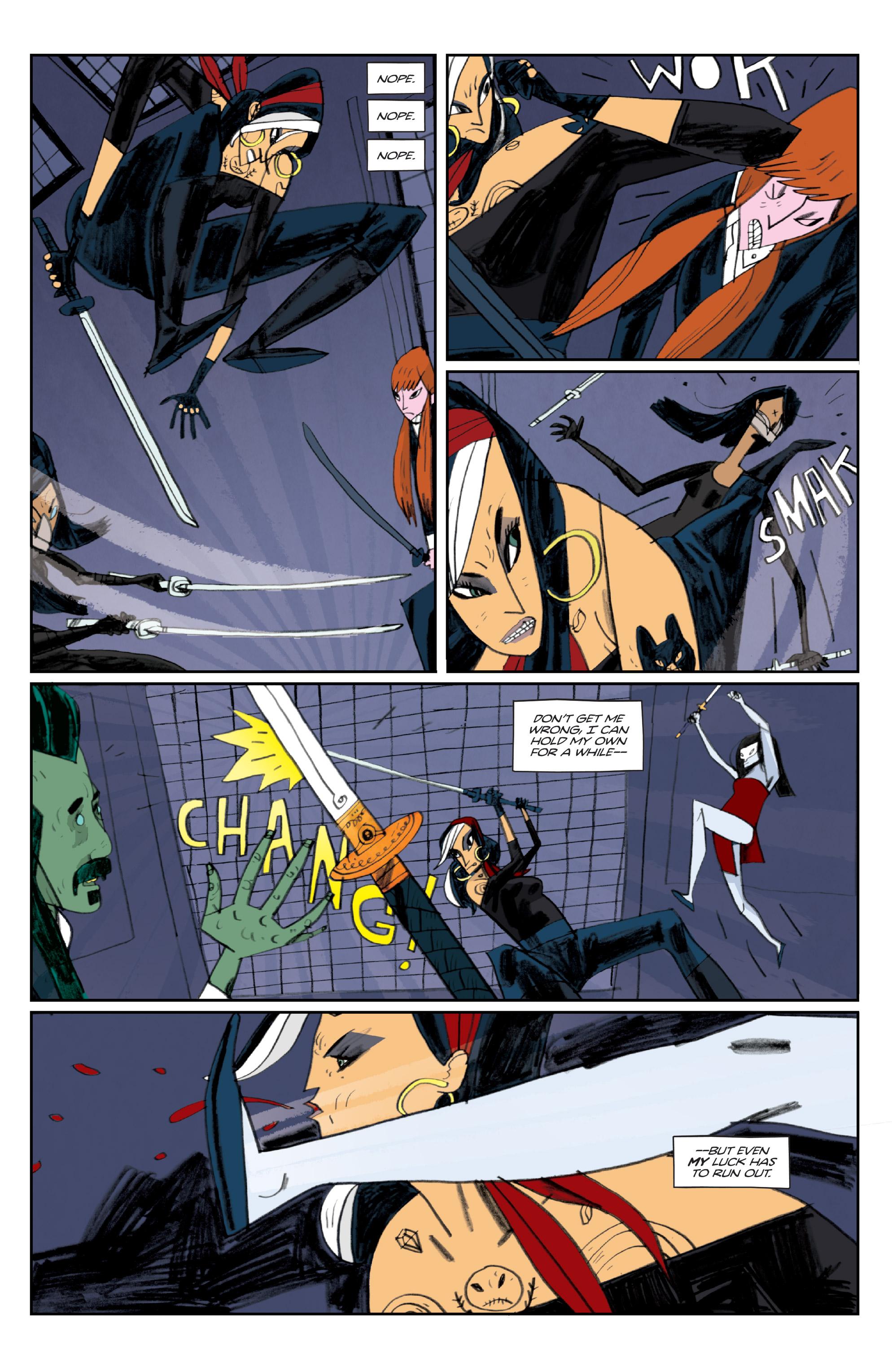 Read online Helena Crash comic -  Issue #3 - 5