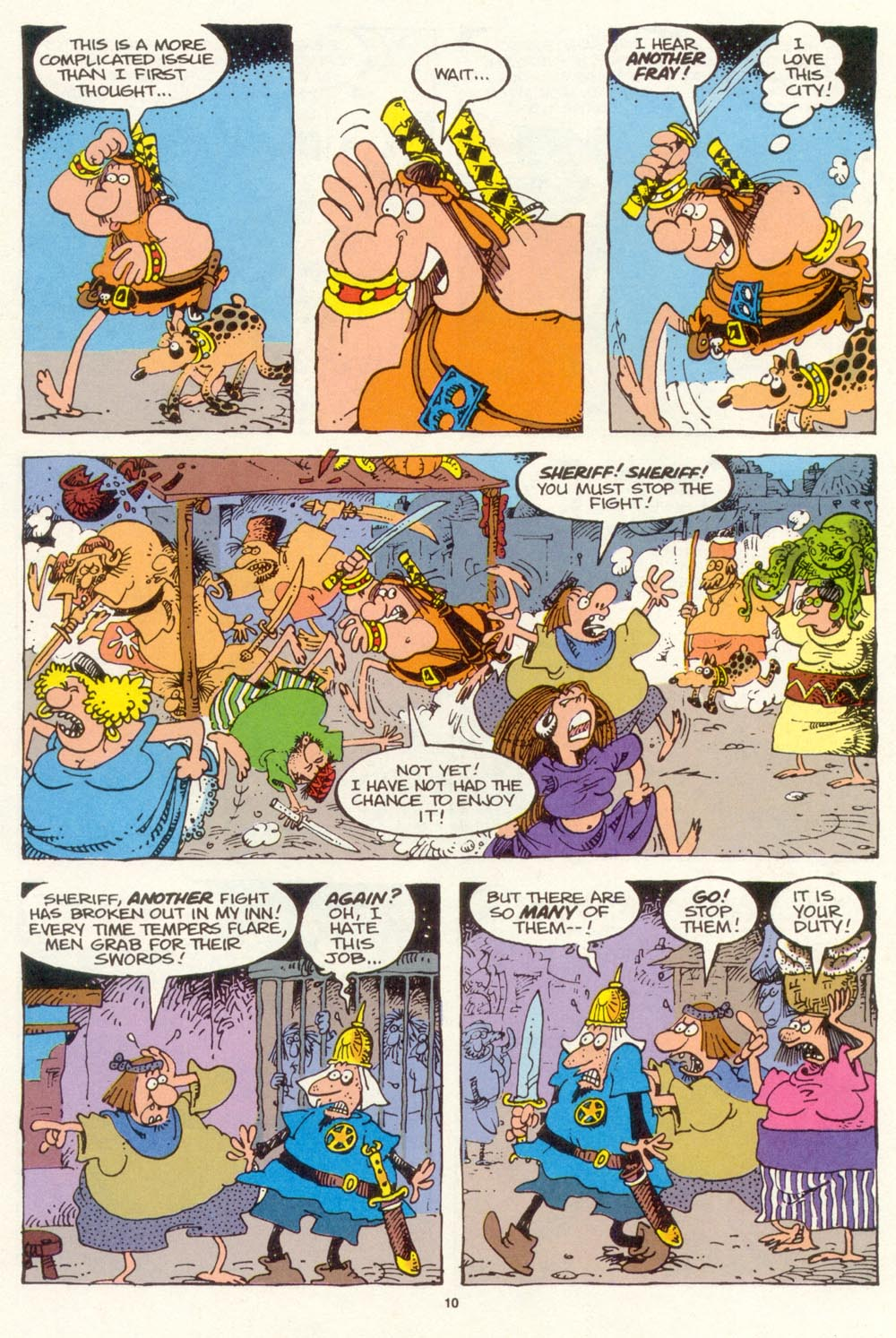 Read online Sergio Aragonés Groo the Wanderer comic -  Issue #120 - 12