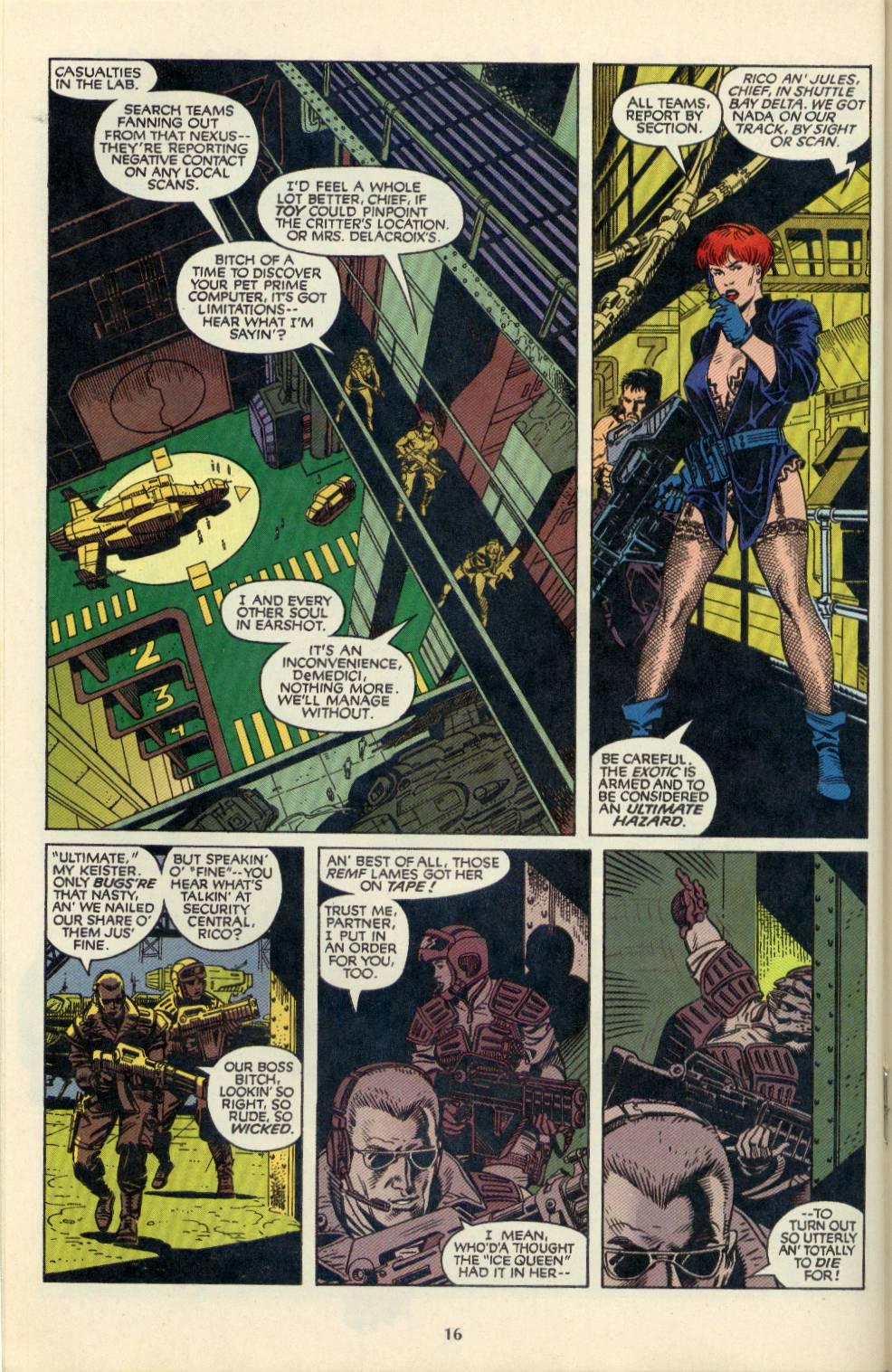 Read online Aliens/Predator: The Deadliest of the Species comic -  Issue #4 - 17