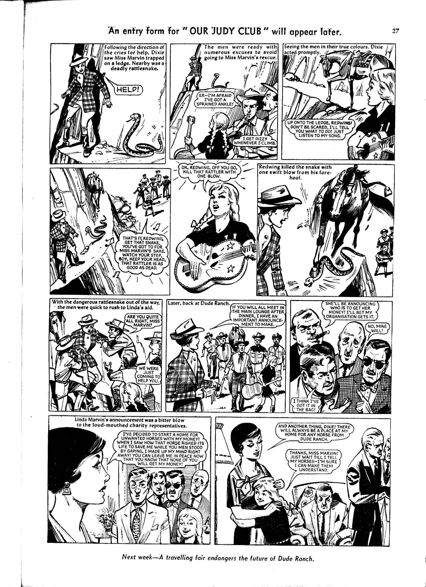 Read online Judy comic -  Issue #48 - 27