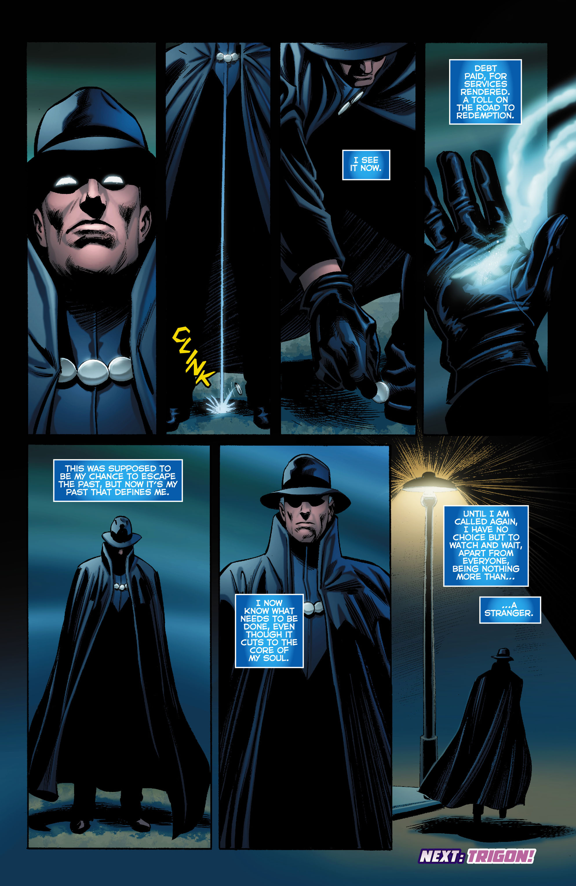 Read online Trinity of Sin: The Phantom Stranger comic -  Issue #0 - 19