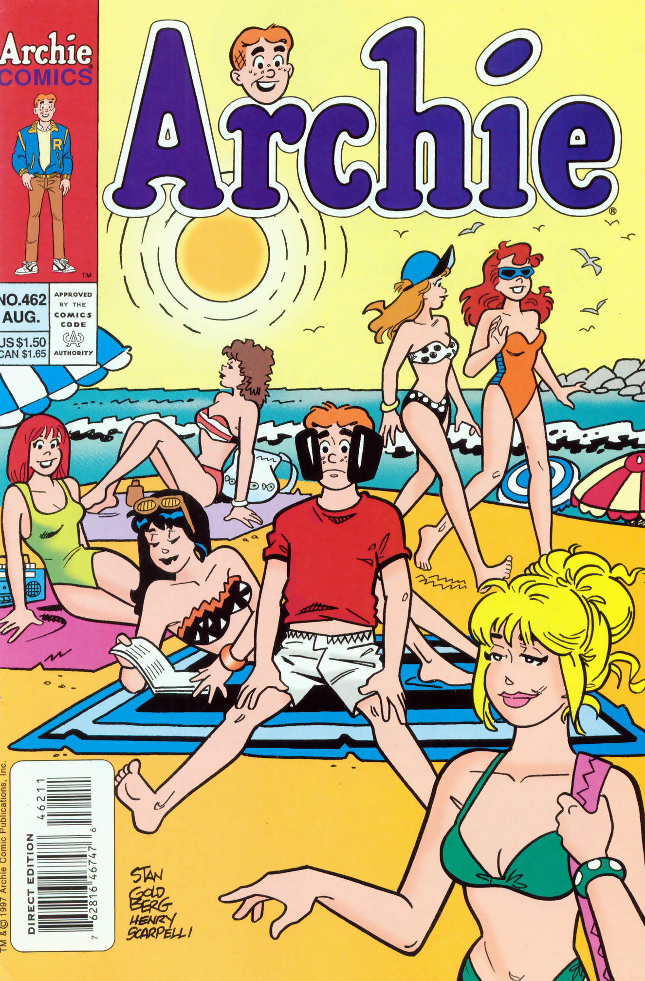 Read online Archie (1960) comic -  Issue #462 - 1
