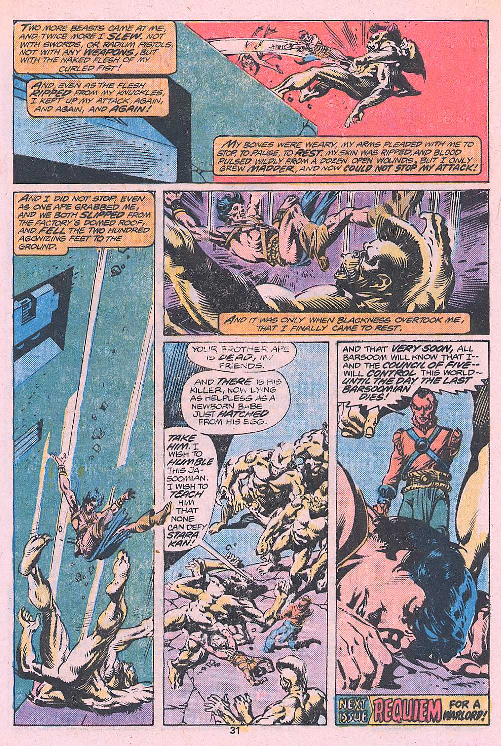John Carter Warlord of Mars issue 2 - Page 33