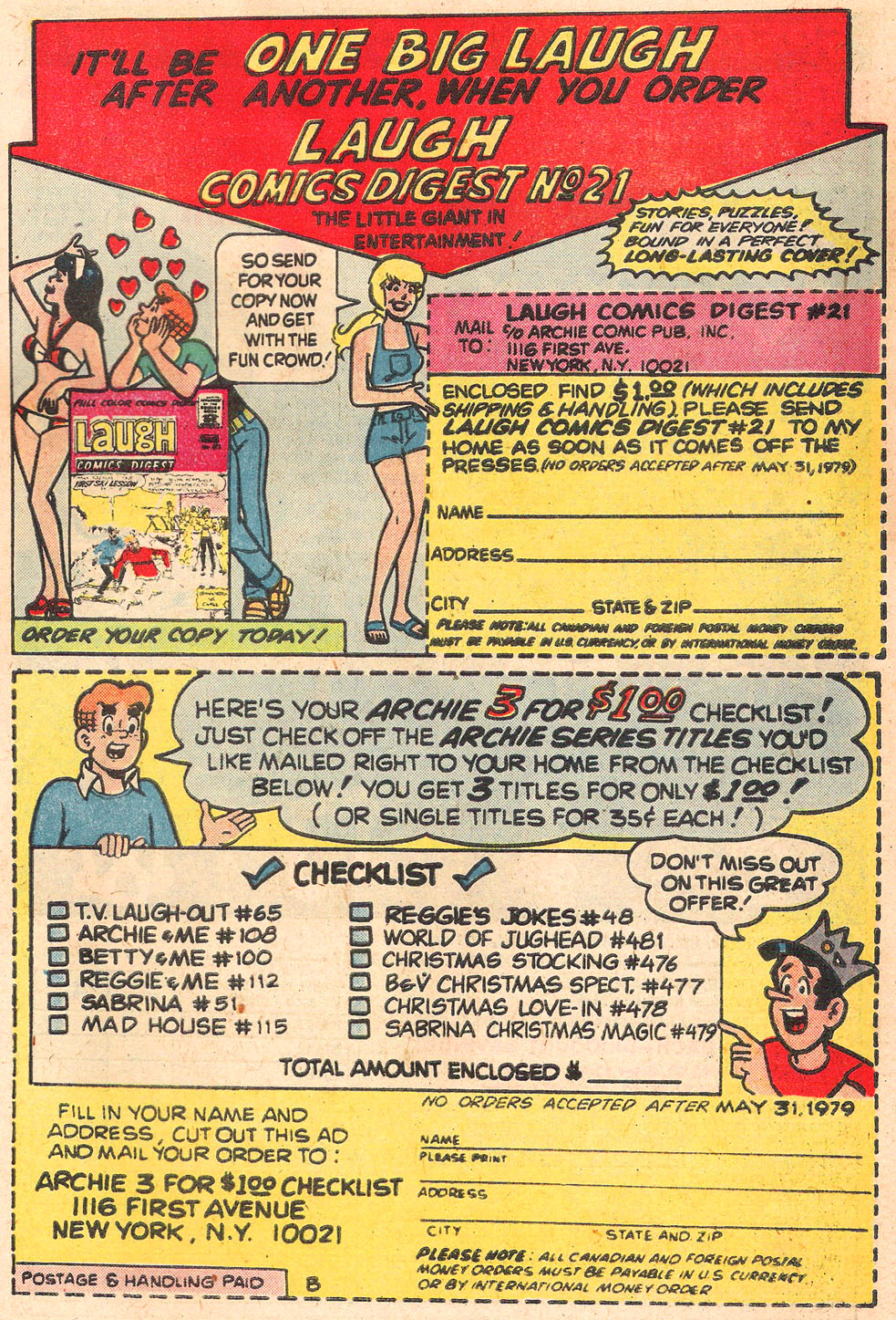 Read online Archie's Girls Betty and Veronica comic -  Issue #278 - 27