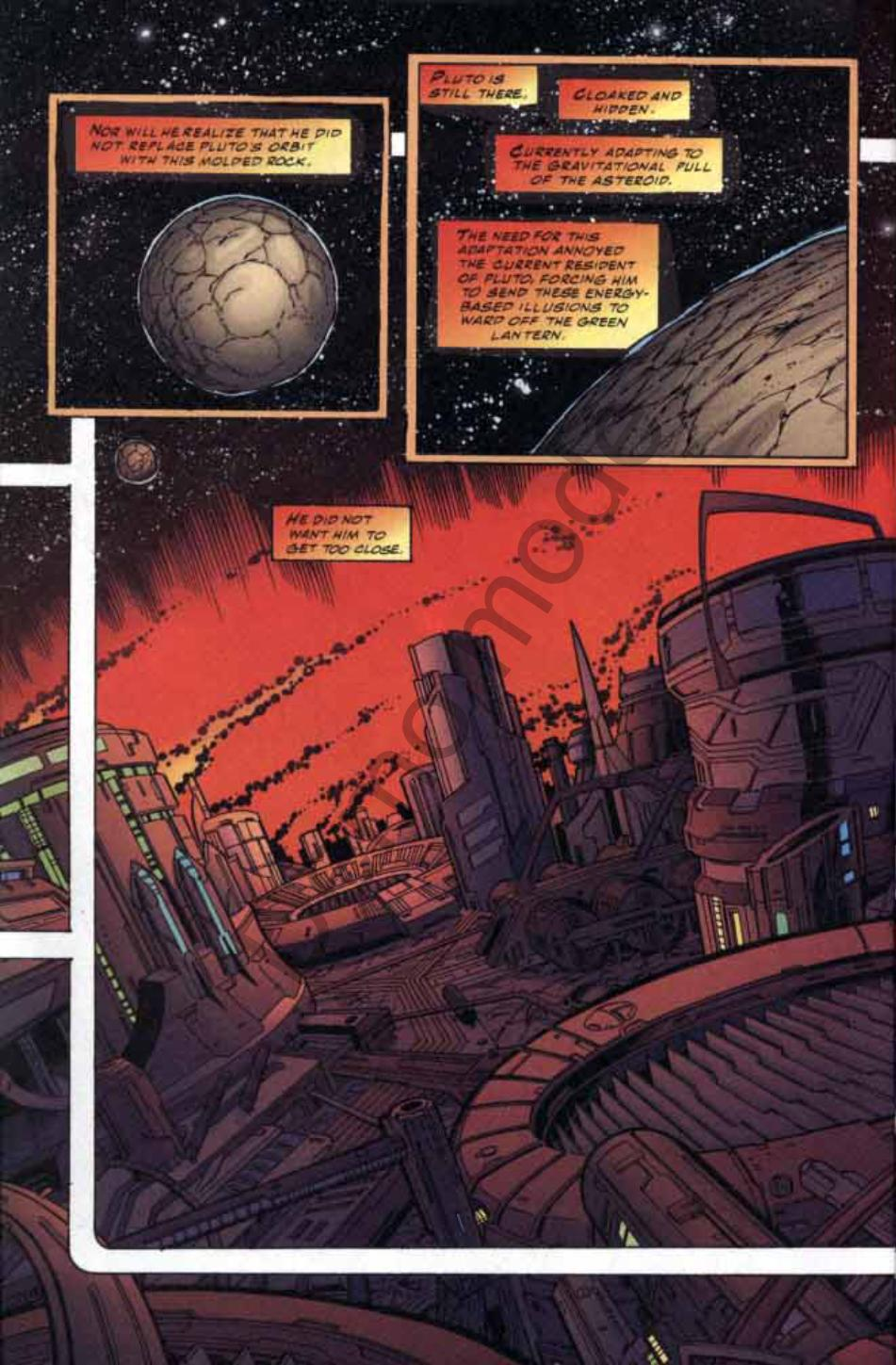 Read online Green Lantern: Our Worlds At War comic -  Issue # Full - 28