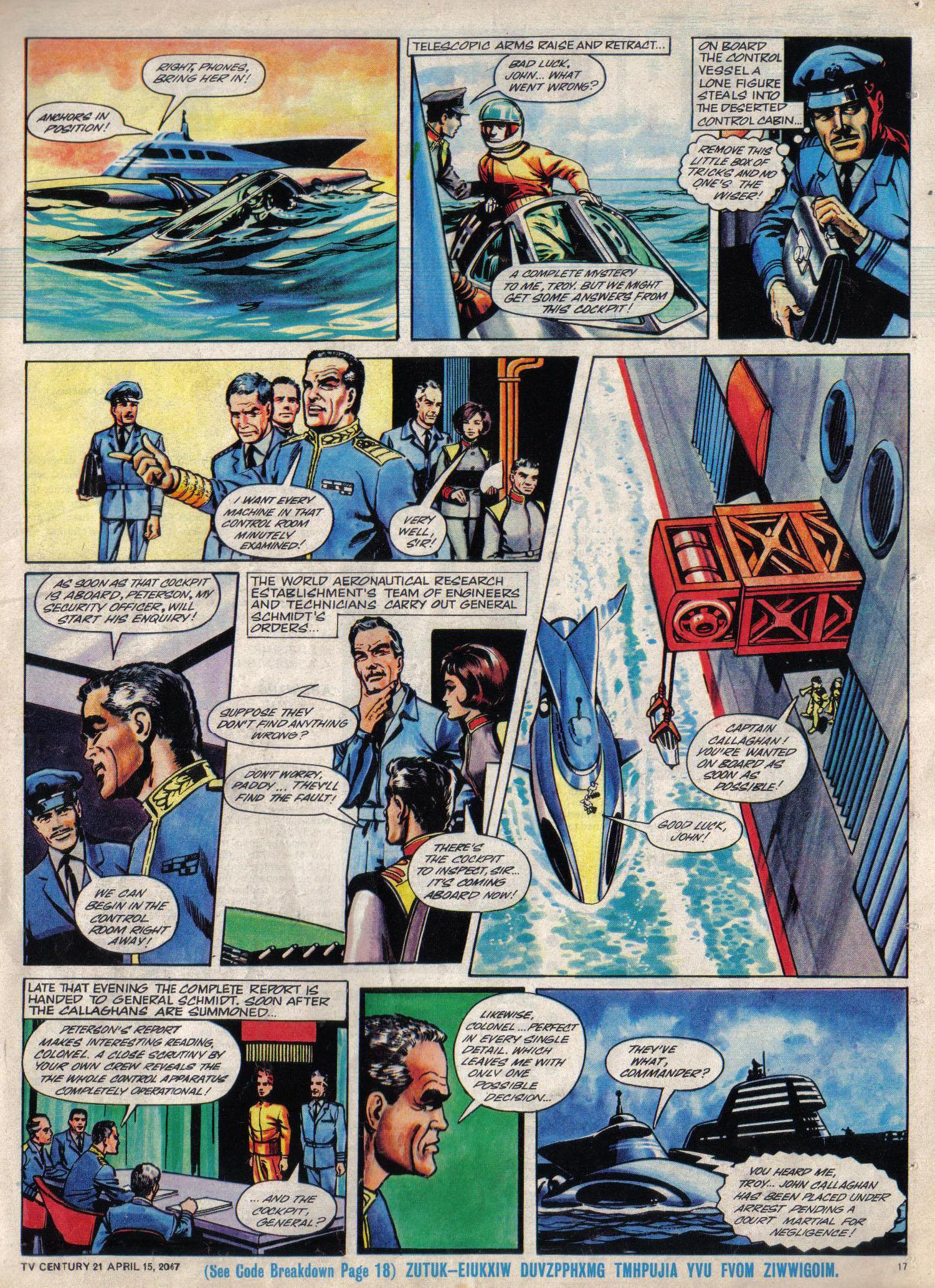 Read online TV Century 21 (TV 21) comic -  Issue #117 - 16