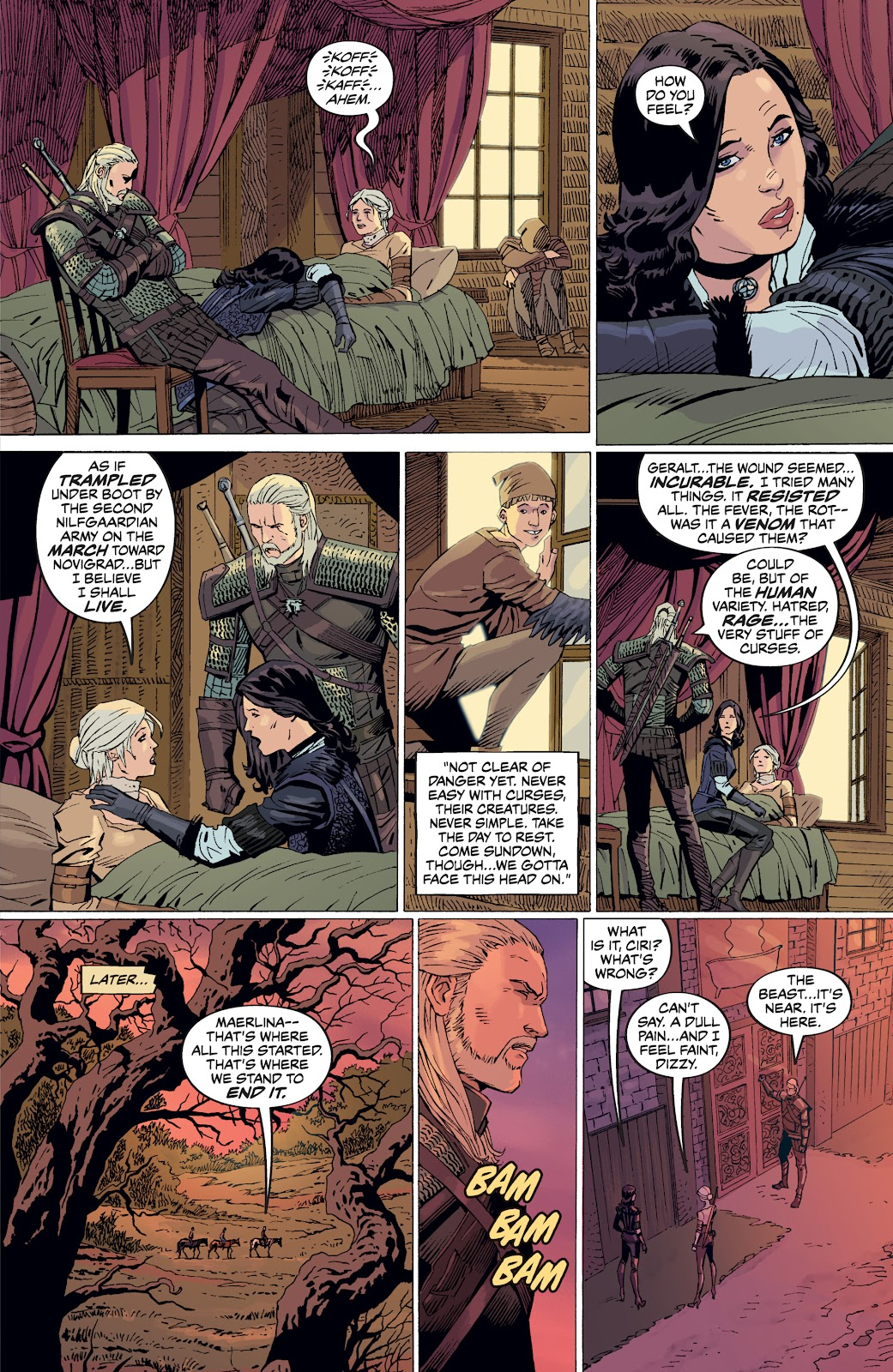 Read online The Witcher Omnibus comic -  Issue # TPB (Part 5) - 14