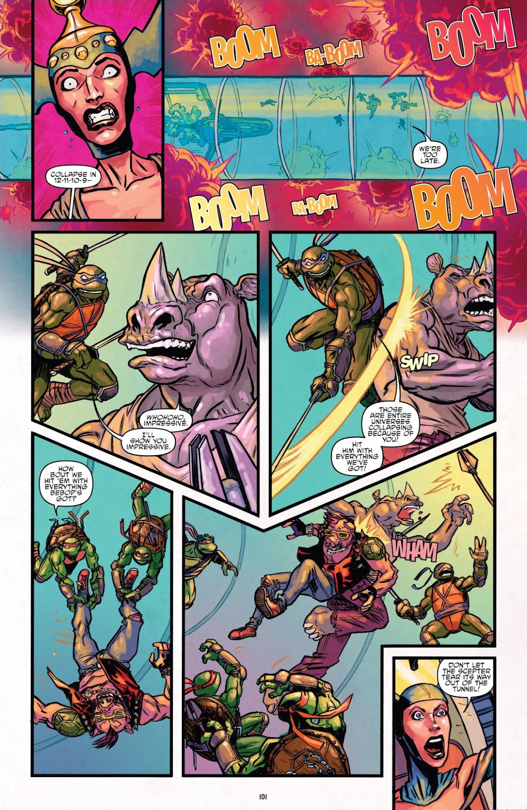 Read online Teenage Mutant Ninja Turtles: The IDW Collection comic -  Issue # TPB 8 (Part 1) - 100