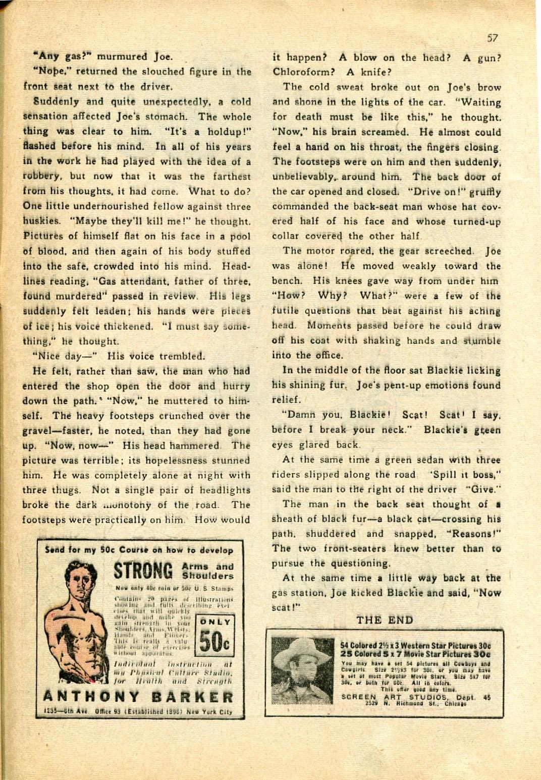 Read online Shadow Comics comic -  Issue #24 - 49