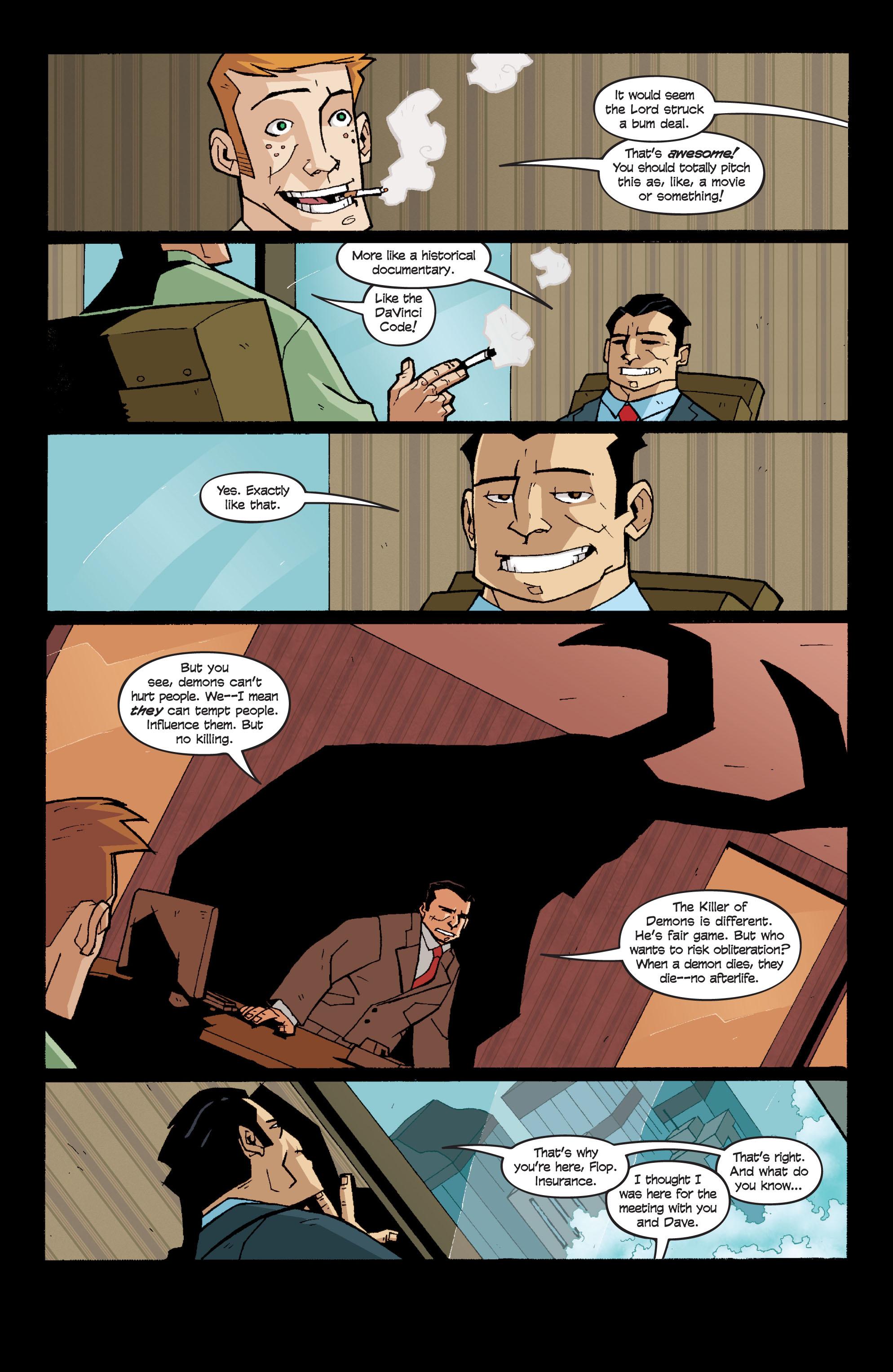 Read online Killer Of Demons comic -  Issue #3 - 5