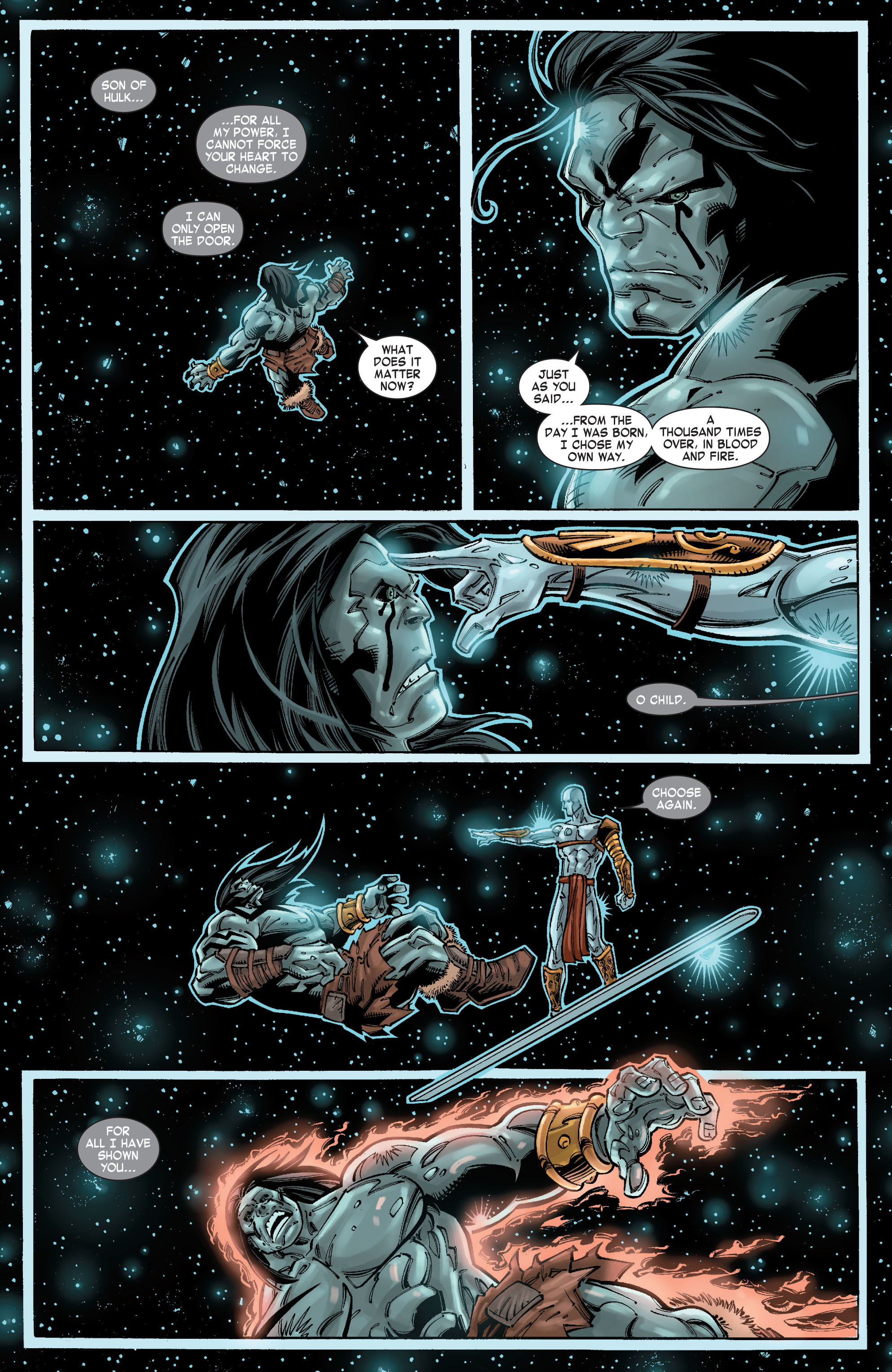Read online Skaar: Son of Hulk comic -  Issue #10 - 12
