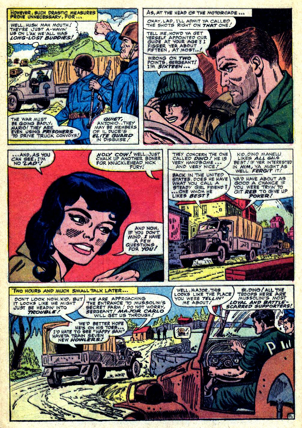 Read online Sgt. Fury comic -  Issue #30 - 16