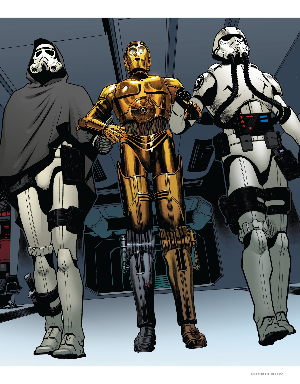Read online The Marvel Art of Star Wars comic -  Issue # TPB (Part 2) - 6