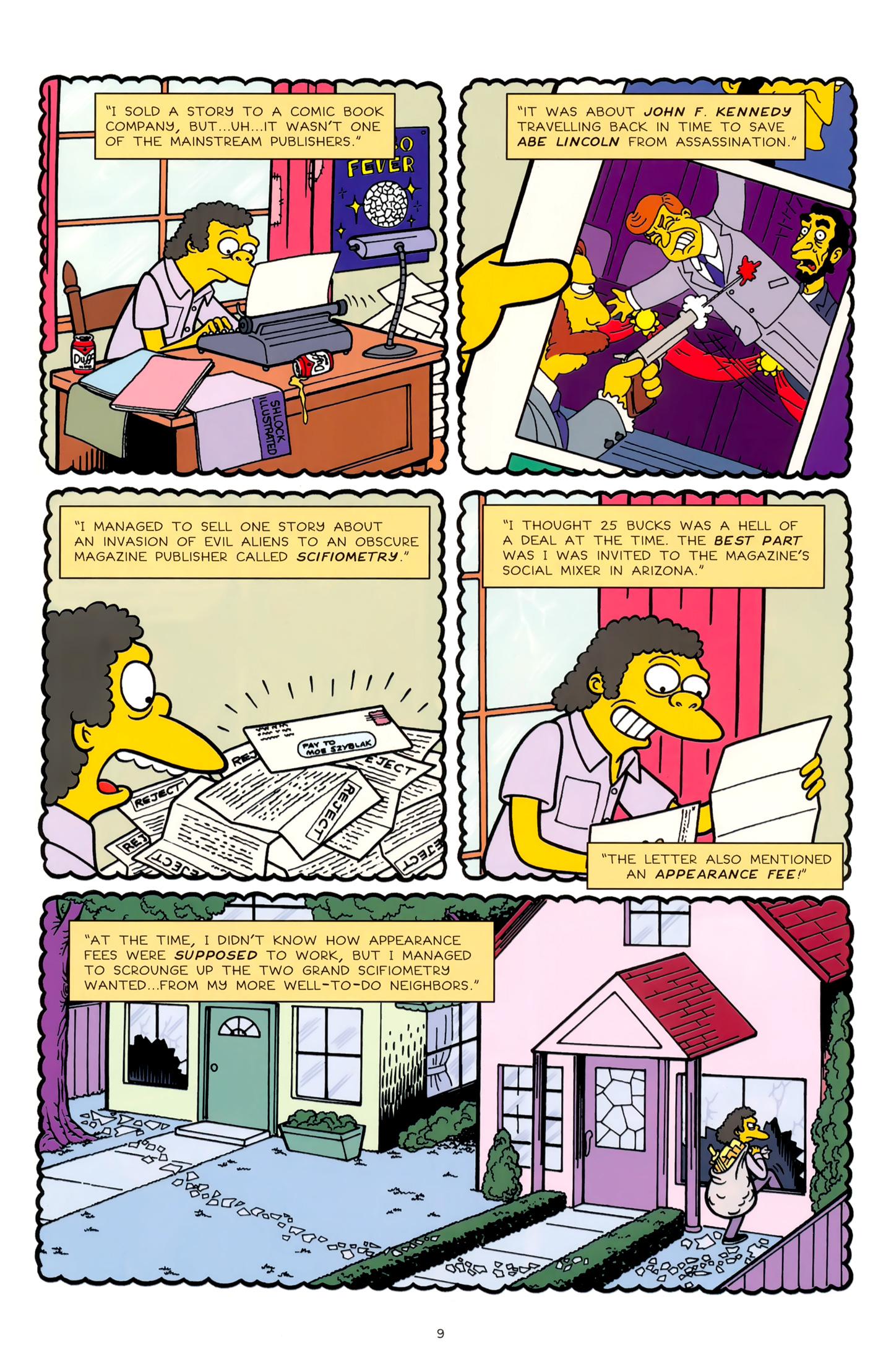 Read online Simpsons Comics comic -  Issue #179 - 9