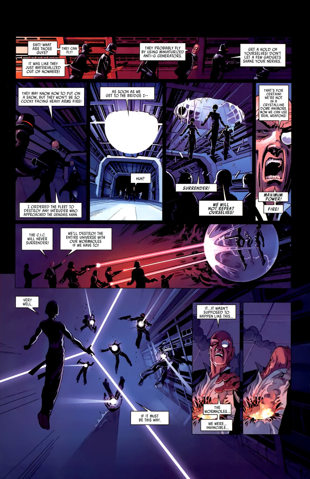 Read online Universal War One: Revelations comic -  Issue #3 - 45