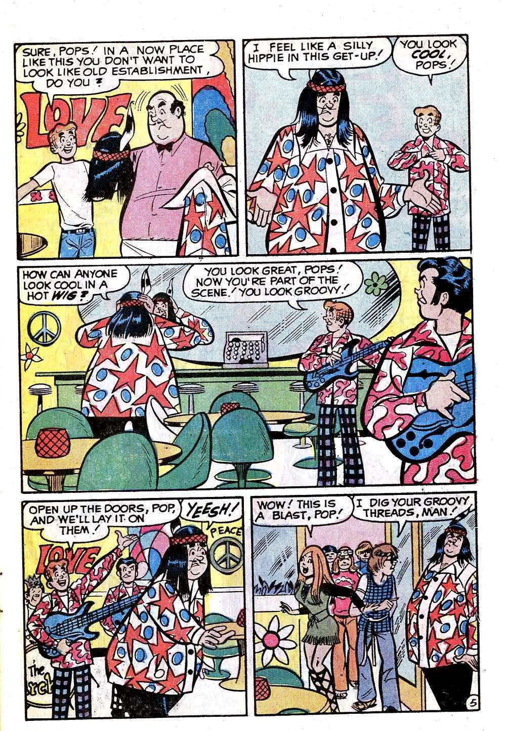Read online Archie (1960) comic -  Issue #215 - 7