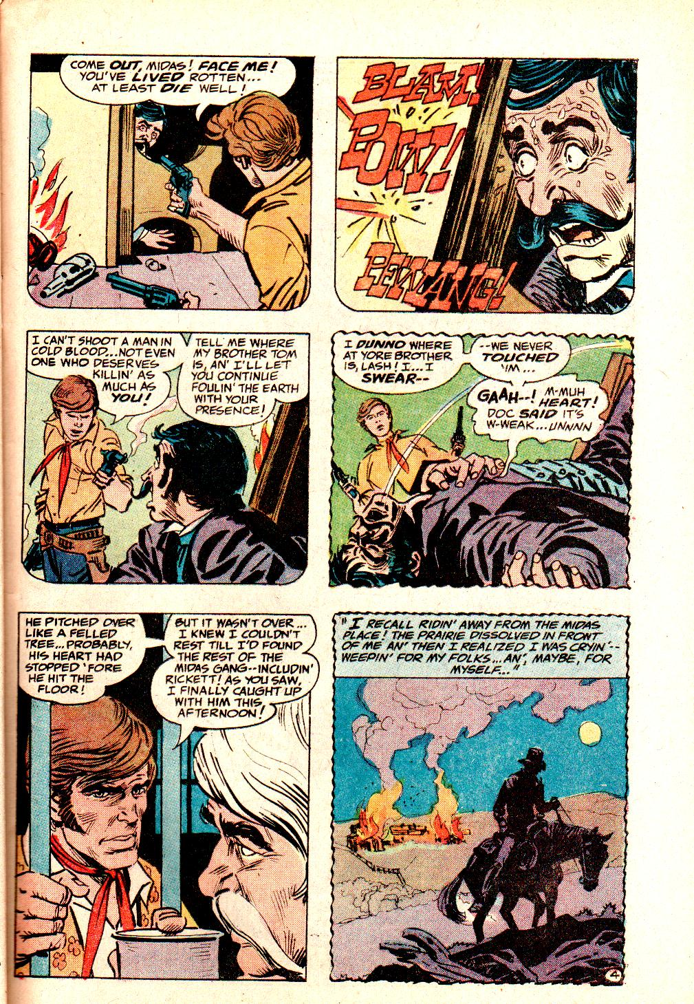 Read online All-Star Western (1970) comic -  Issue #10 - 39