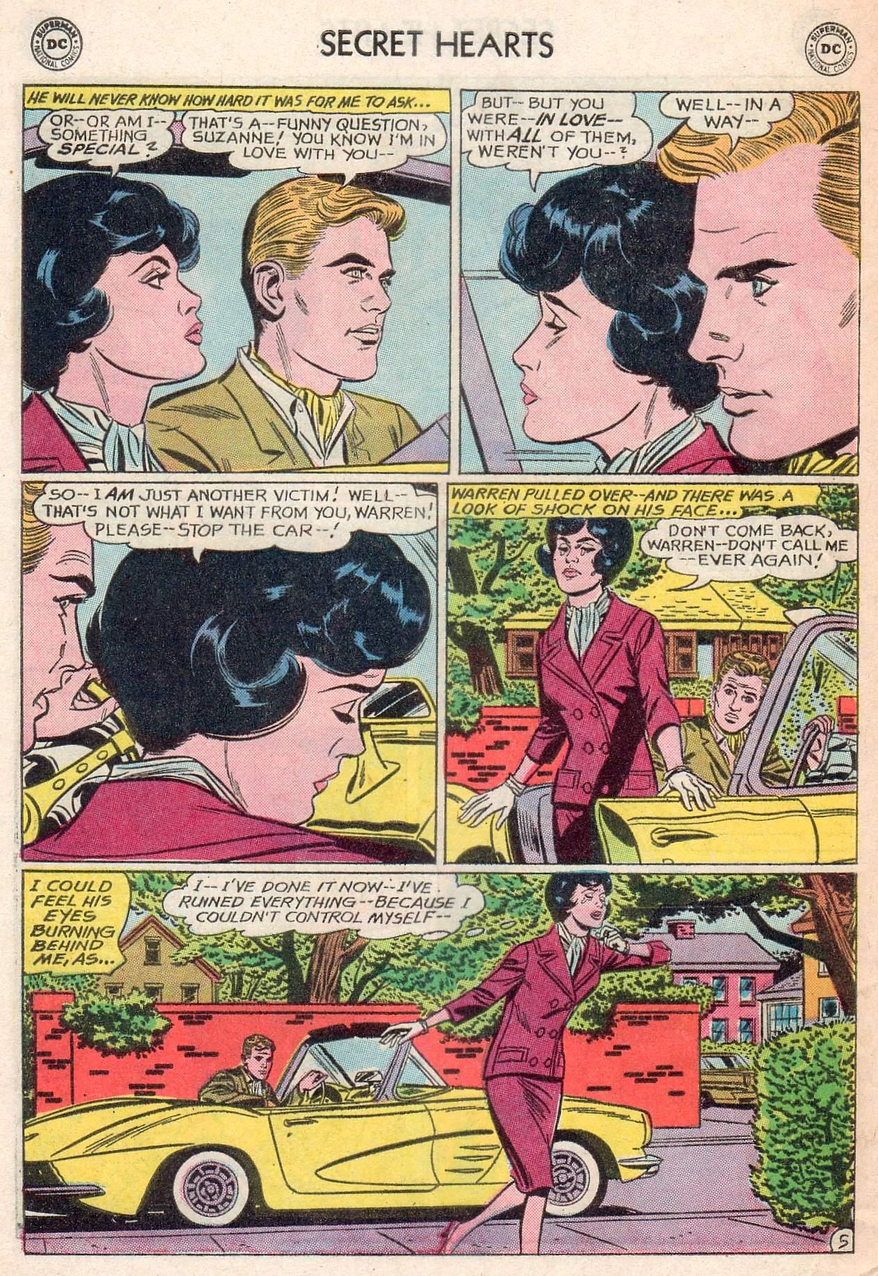 Read online Secret Hearts comic -  Issue #107 - 32