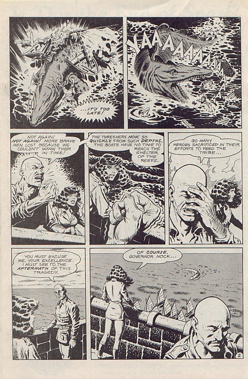 Read online Xenozoic Tales comic -  Issue #1 - 17