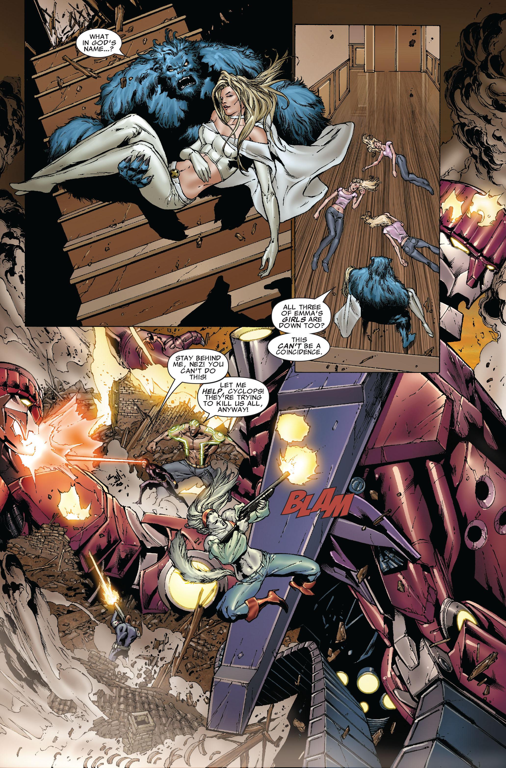 Read online Uncanny X-Men (1963) comic -  Issue #493 - 8