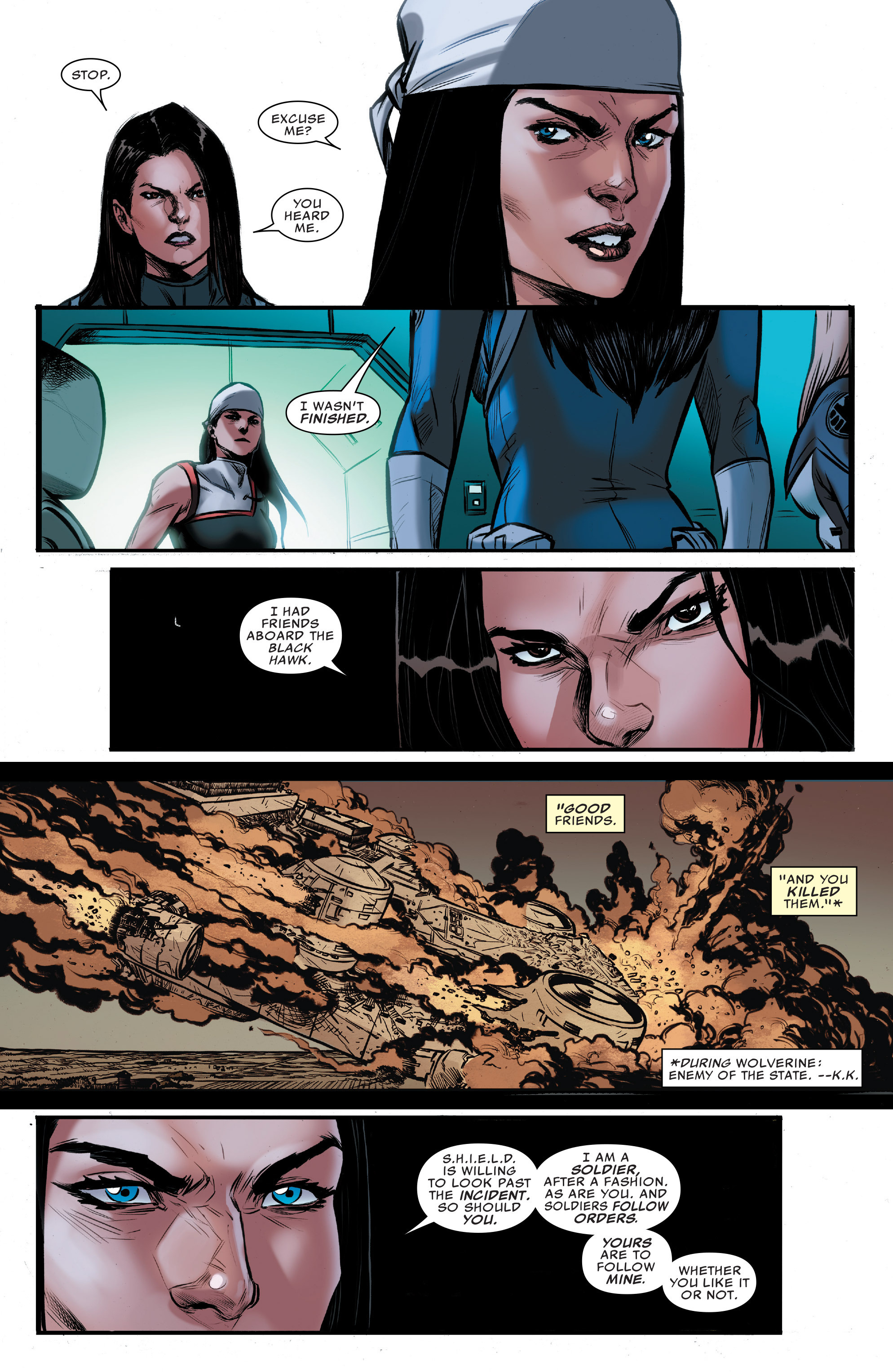 Read online Agents of S.H.I.E.L.D. comic -  Issue #9 - 11