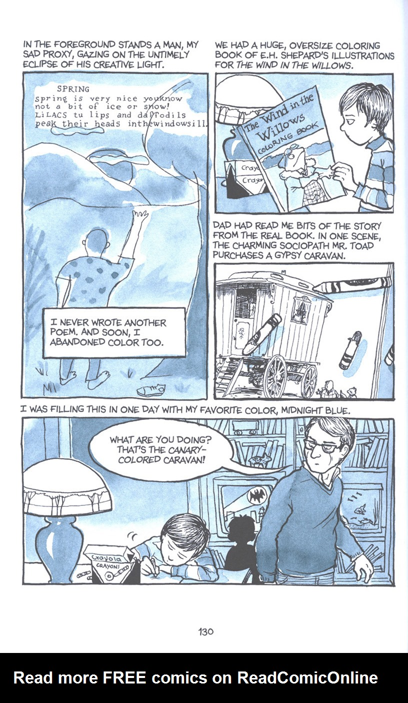 Read online Fun Home: A Family Tragicomic comic -  Issue # TPB - 136