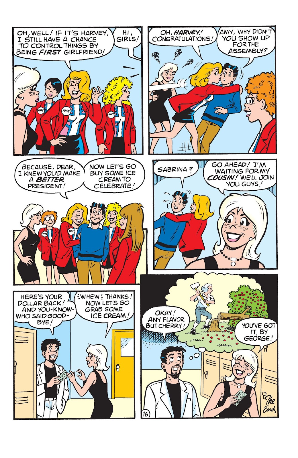 Sabrina the Teenage Witch (1997) Issue #22 #23 - English 18