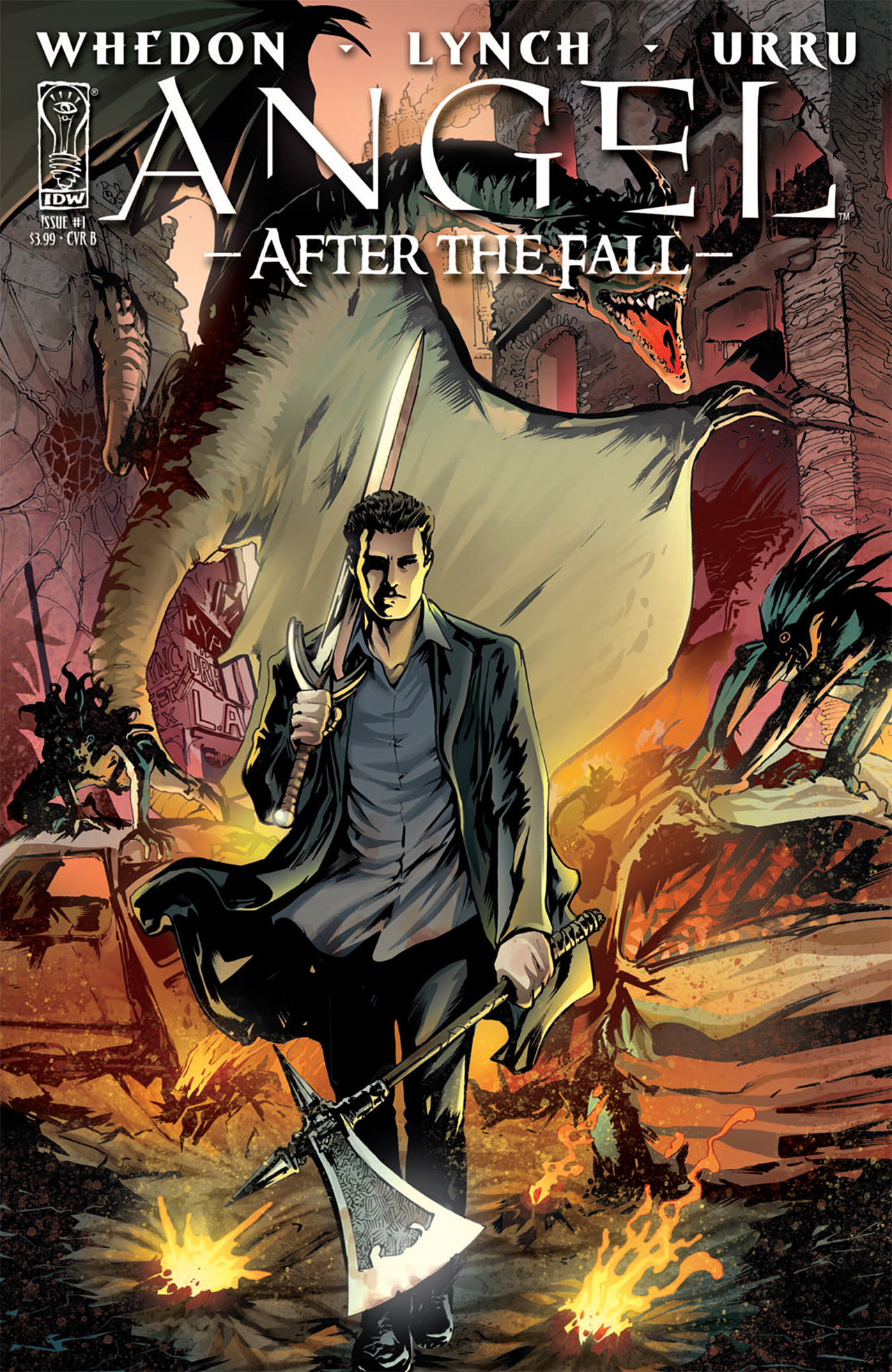 Read online Angel: After The Fall comic -  Issue #1 - 2
