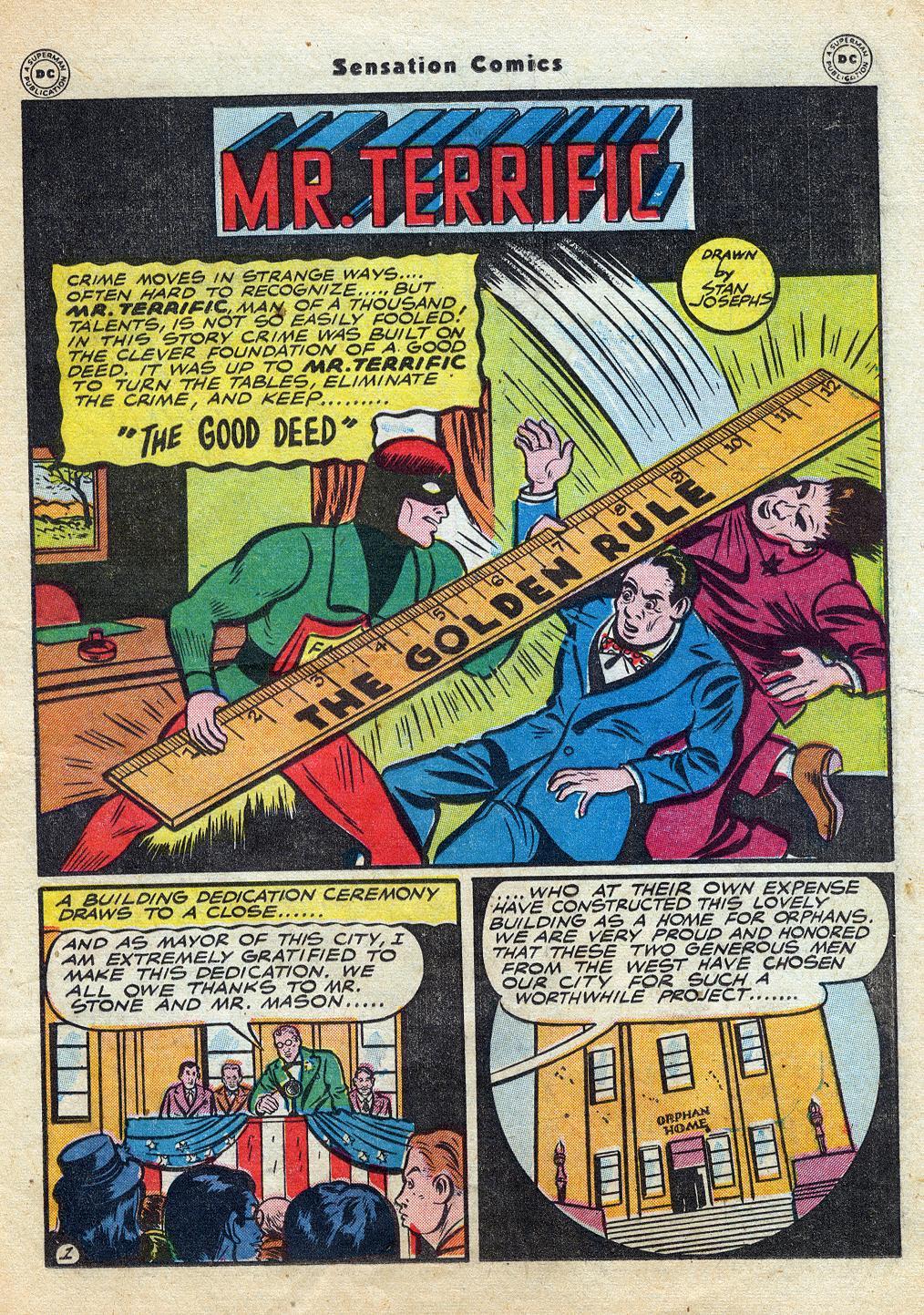 Read online Sensation (Mystery) Comics comic -  Issue #60 - 33