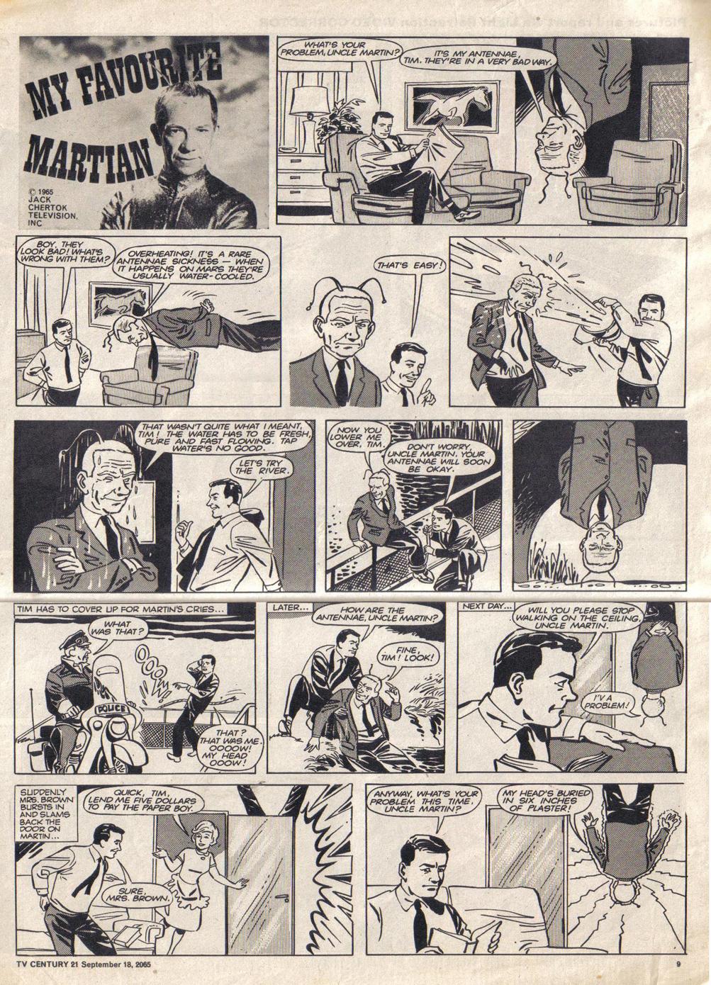 Read online TV Century 21 (TV 21) comic -  Issue #35 - 9