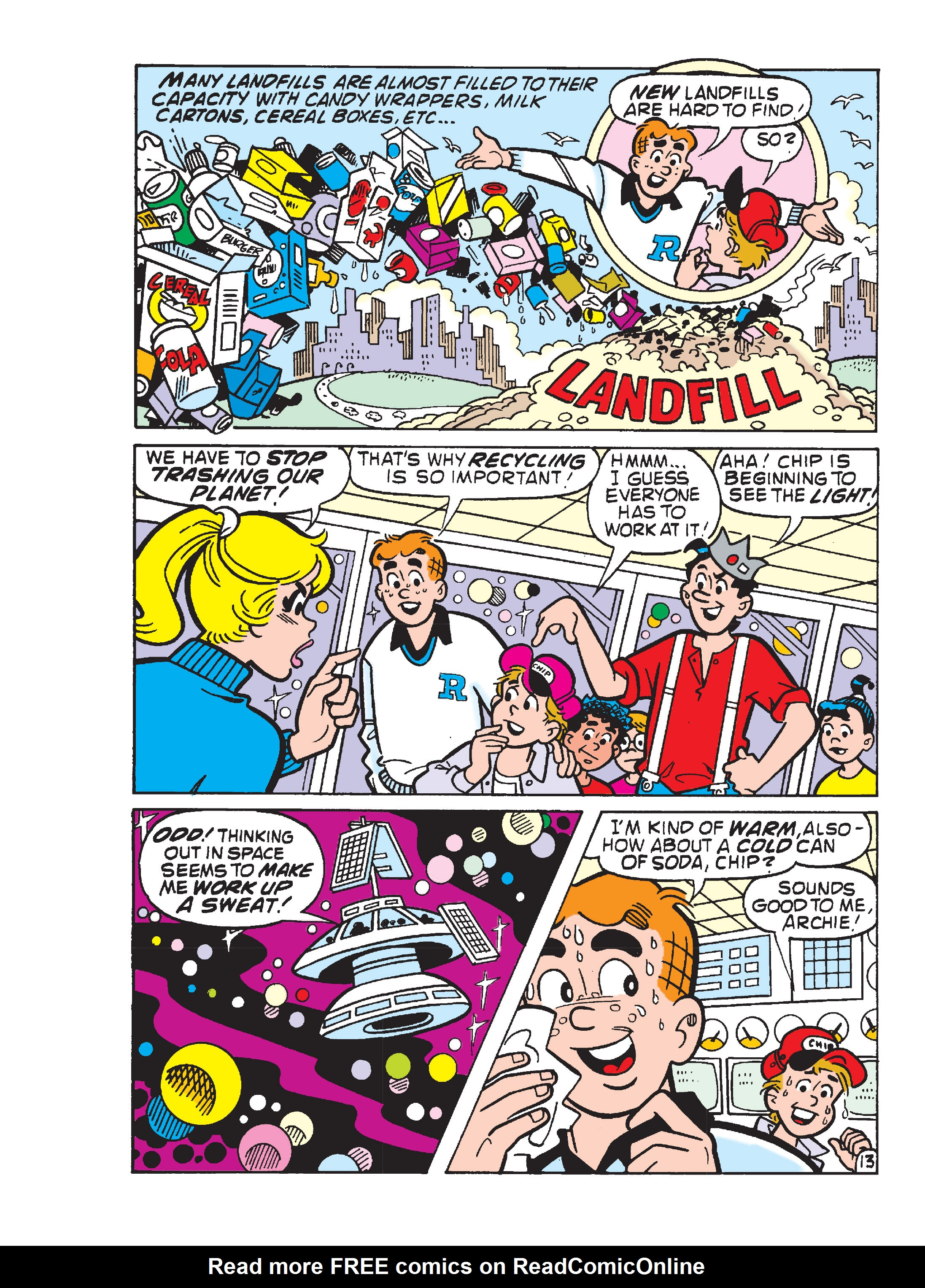 Read online Archie's Funhouse Double Digest comic -  Issue #13 - 106