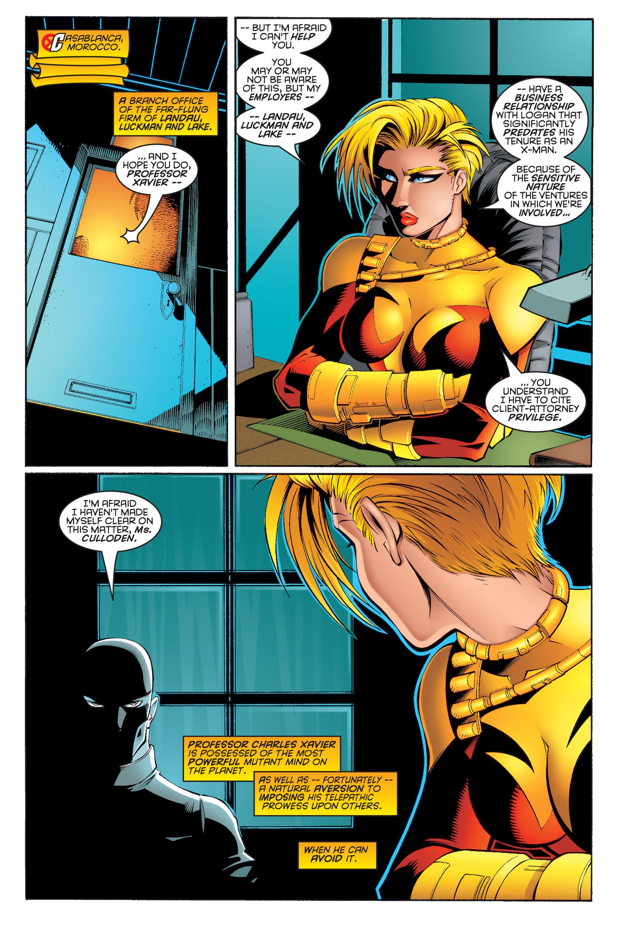Read online Uncanny X-Men (1963) comic -  Issue #332 - 4