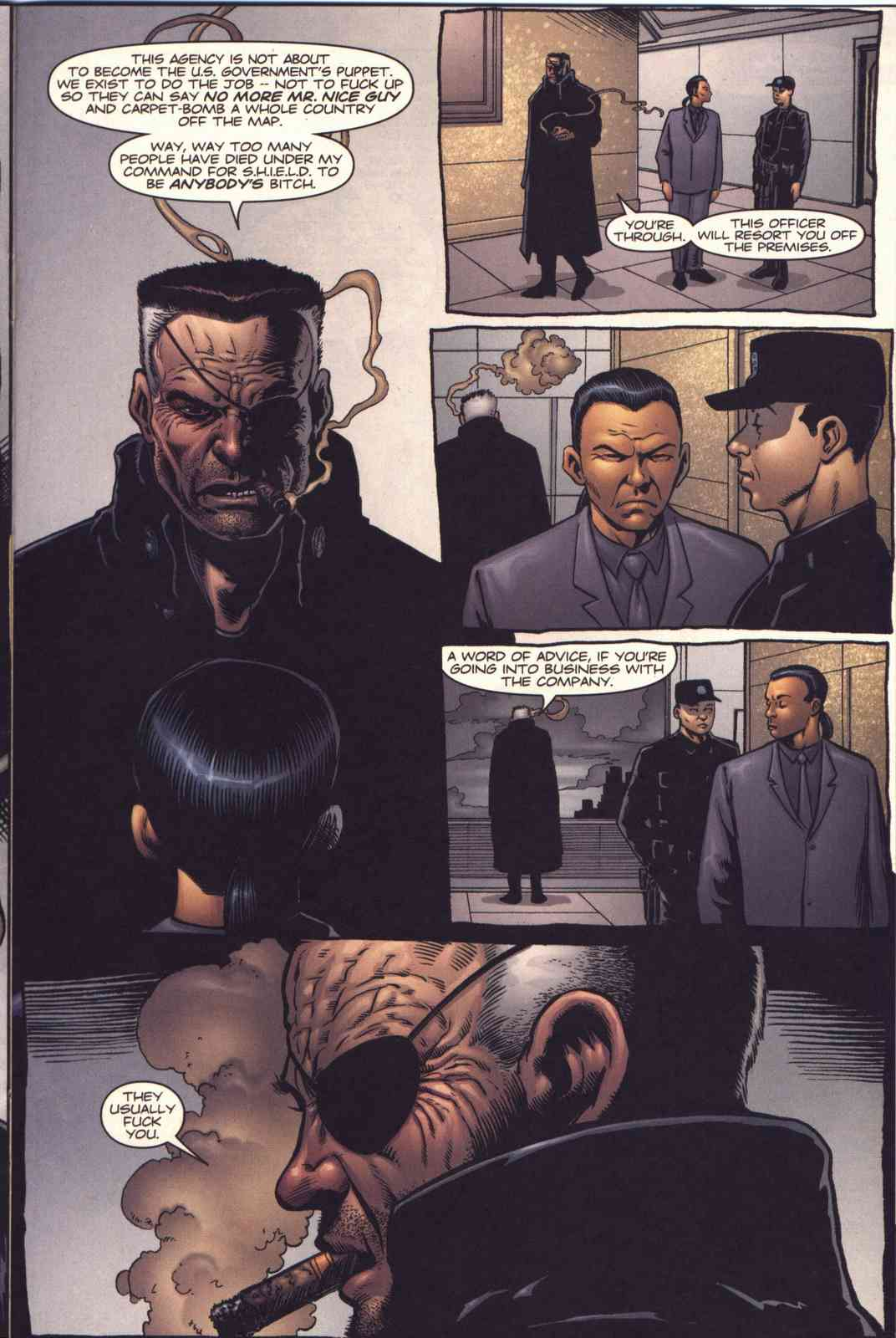 Read online Fury comic -  Issue #3 - 16