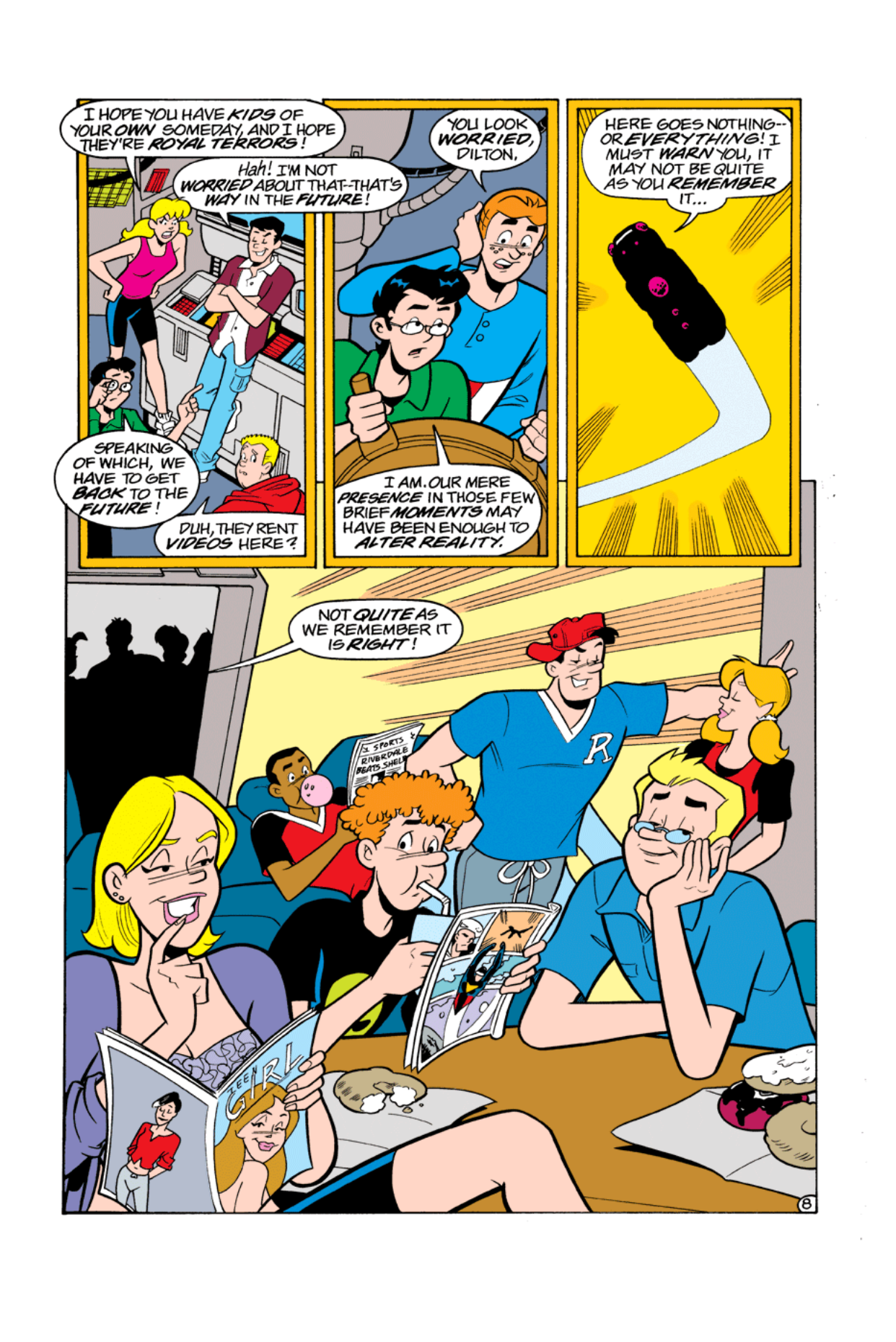 Read online Archie's Weird Mysteries comic -  Issue #5 - 10