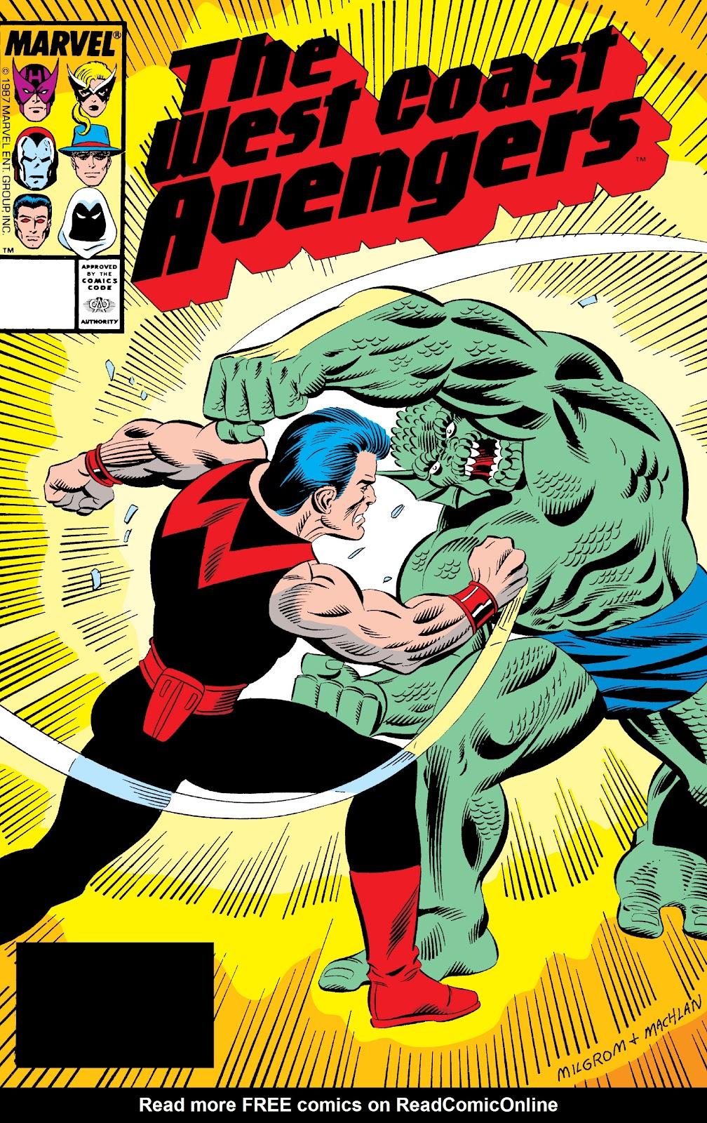 West Coast Avengers (1985) 25 Page 1