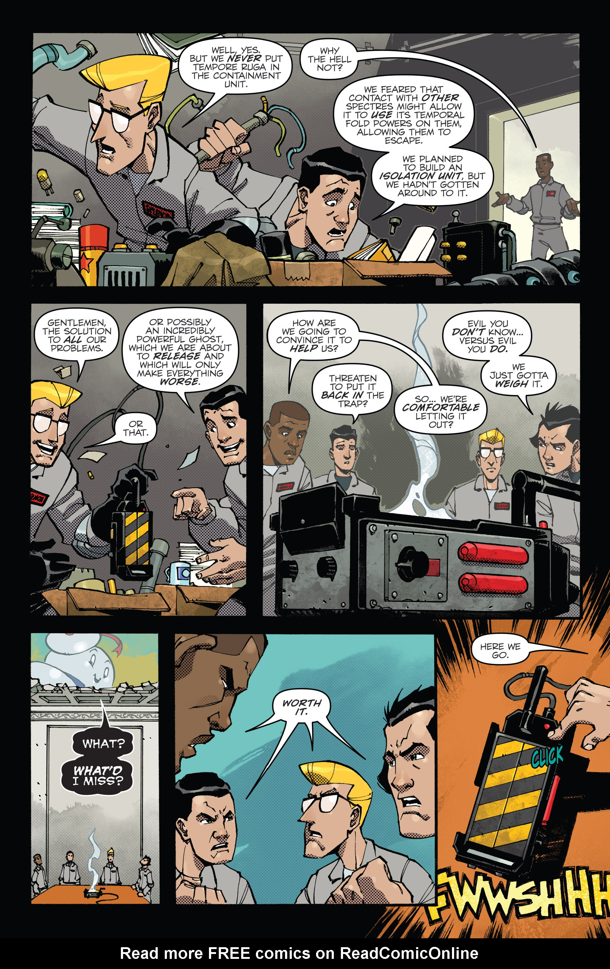 Read online Ghostbusters: Deviations comic -  Issue #1 - 15