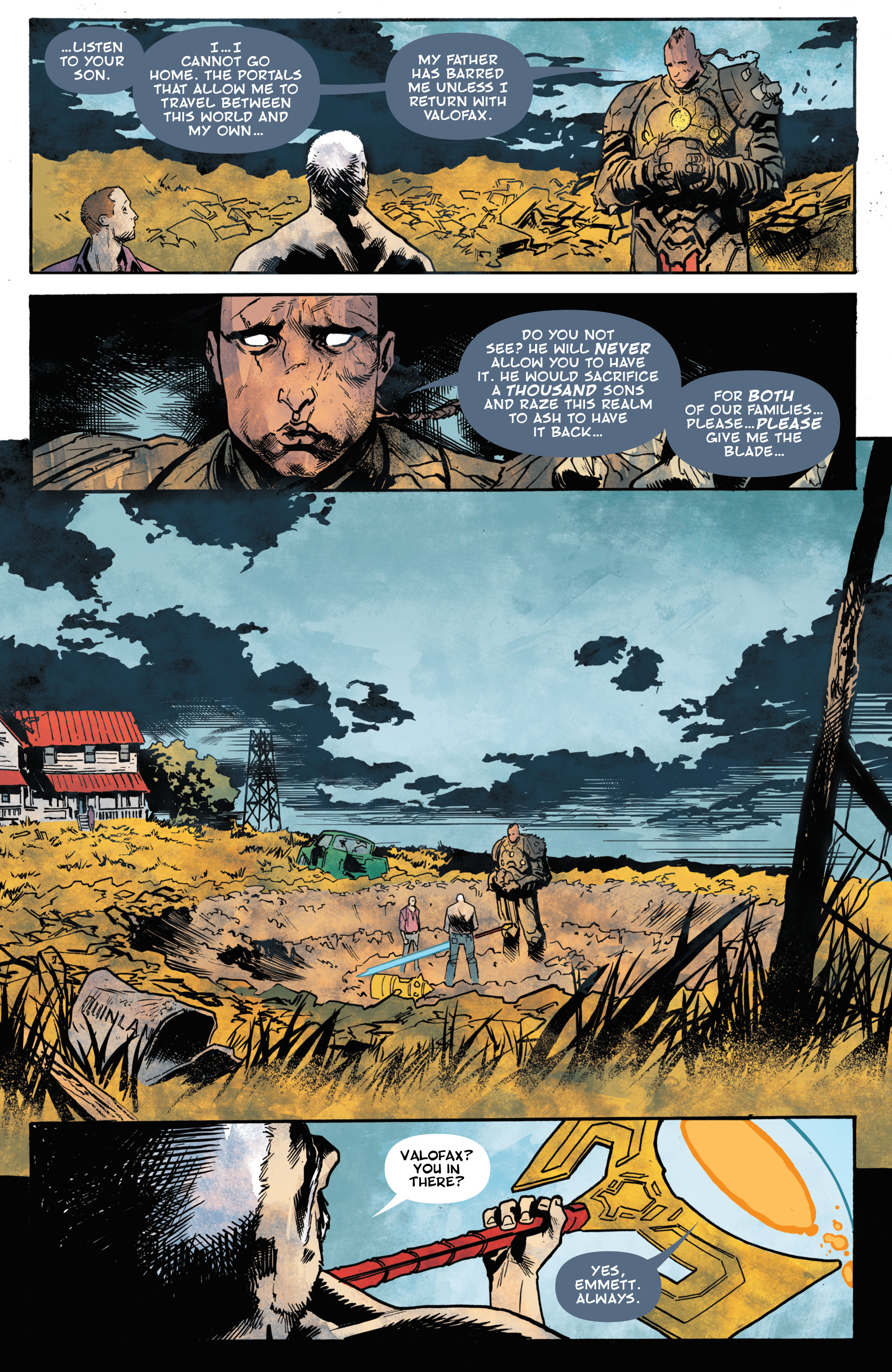 Read online God Country comic -  Issue #5 - 24
