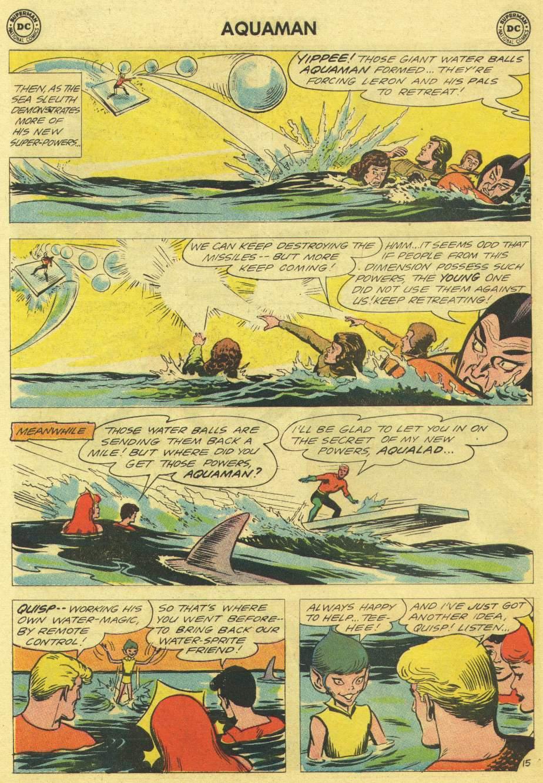 Read online Aquaman (1962) comic -  Issue #11 - 20
