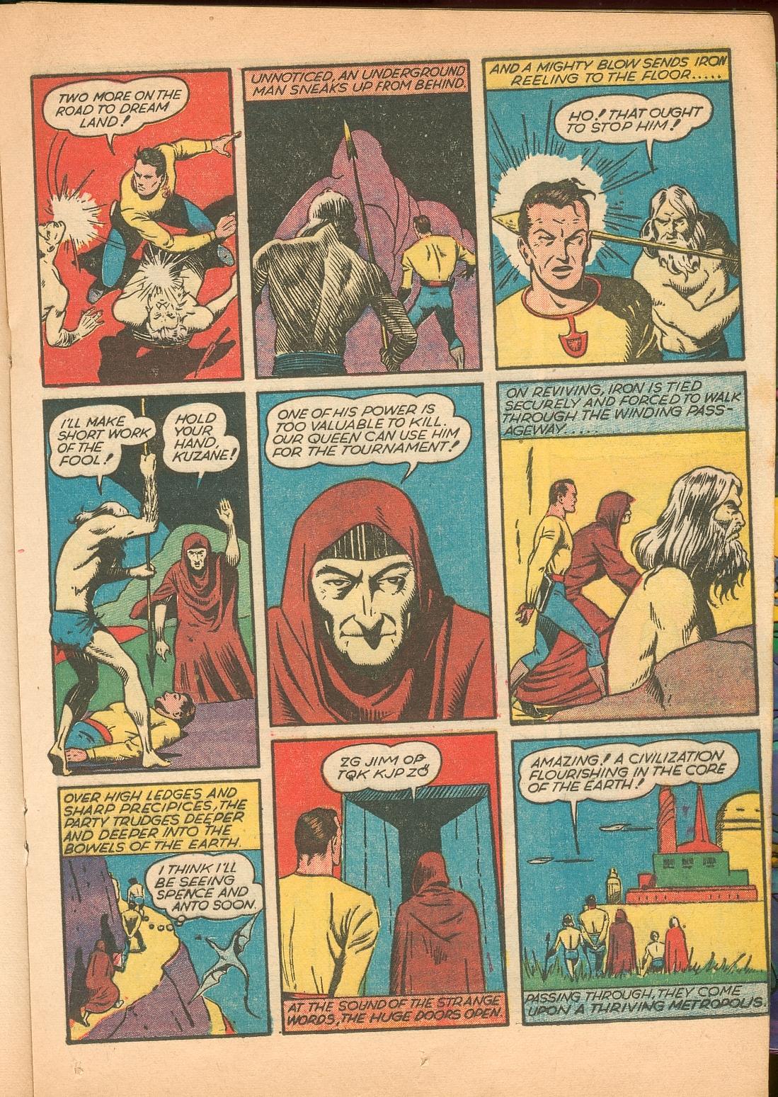 Read online Shadow Comics comic -  Issue #11 - 33