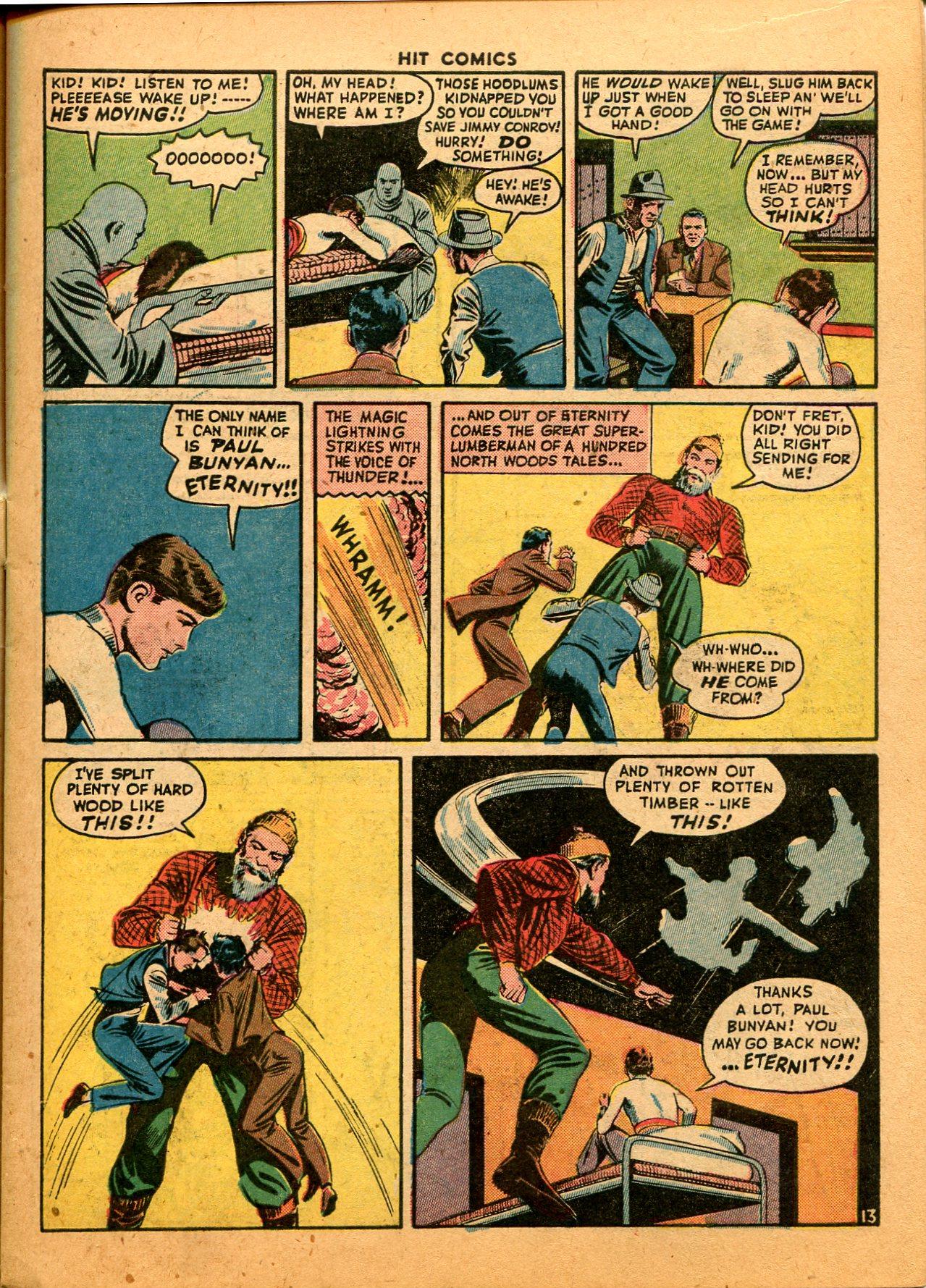 Read online Hit Comics comic -  Issue #35 - 15