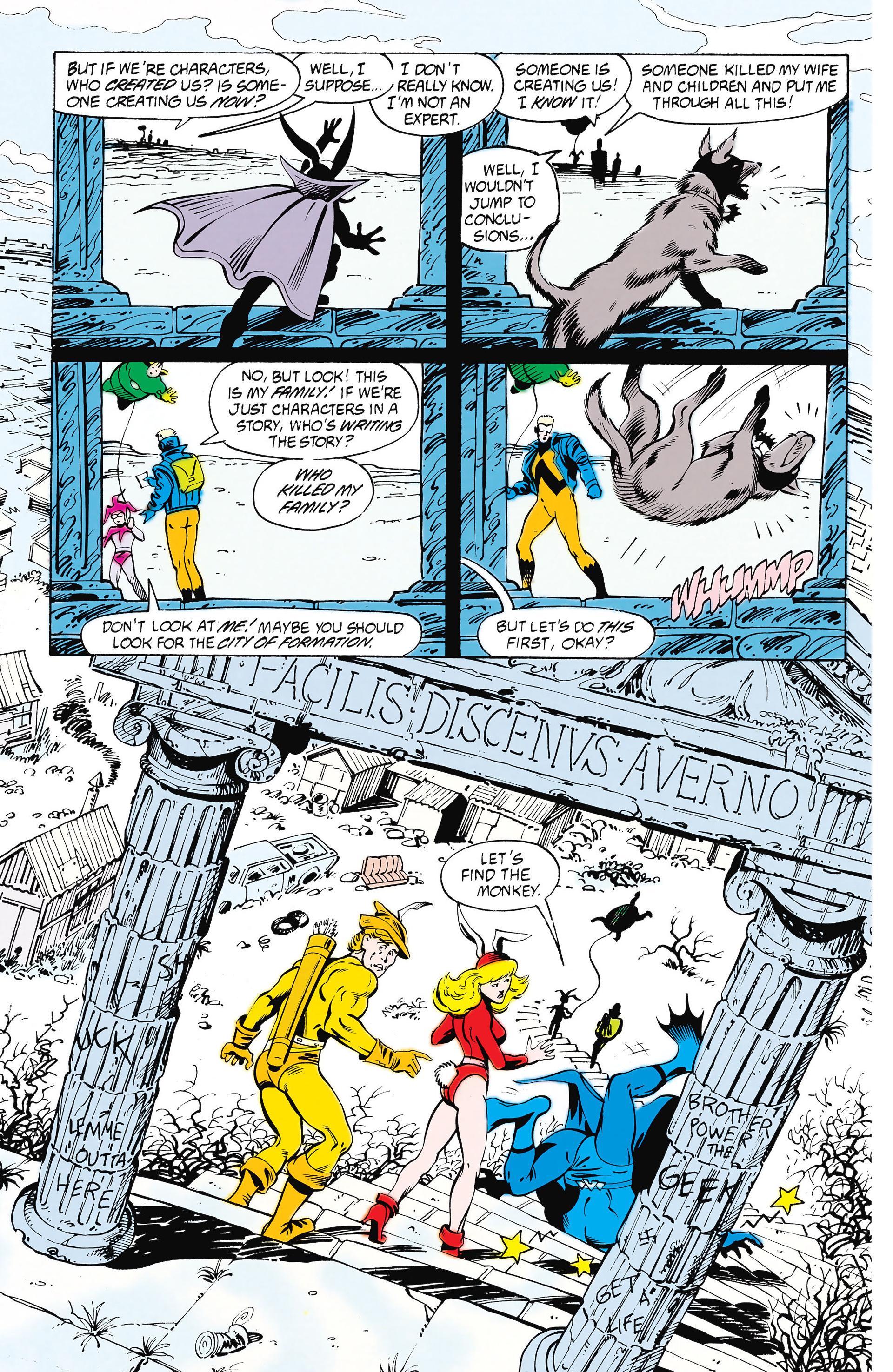 Read online Animal Man (1988) comic -  Issue #25 - 11