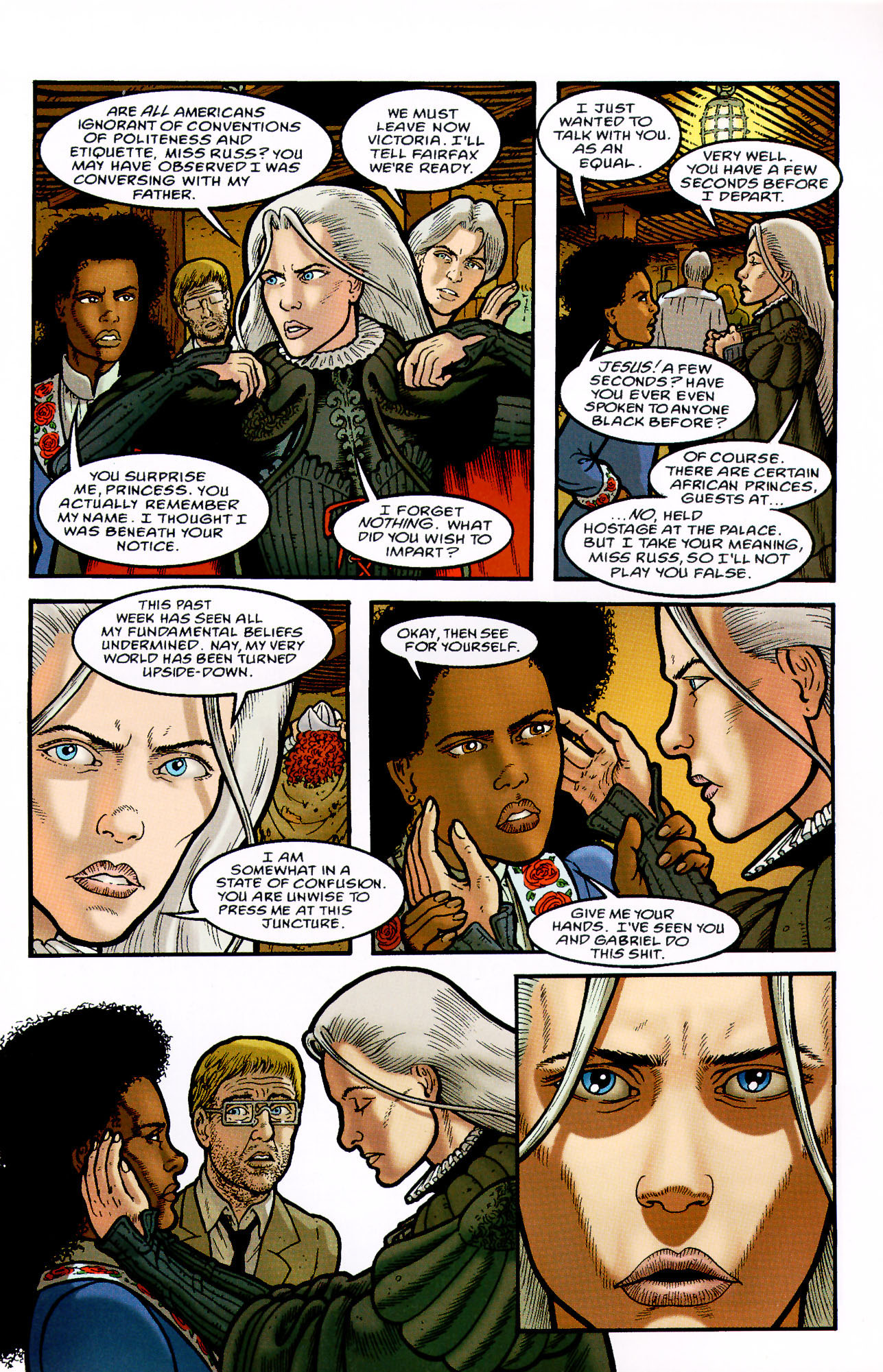 Read online Heart of Empire comic -  Issue #7 - 19
