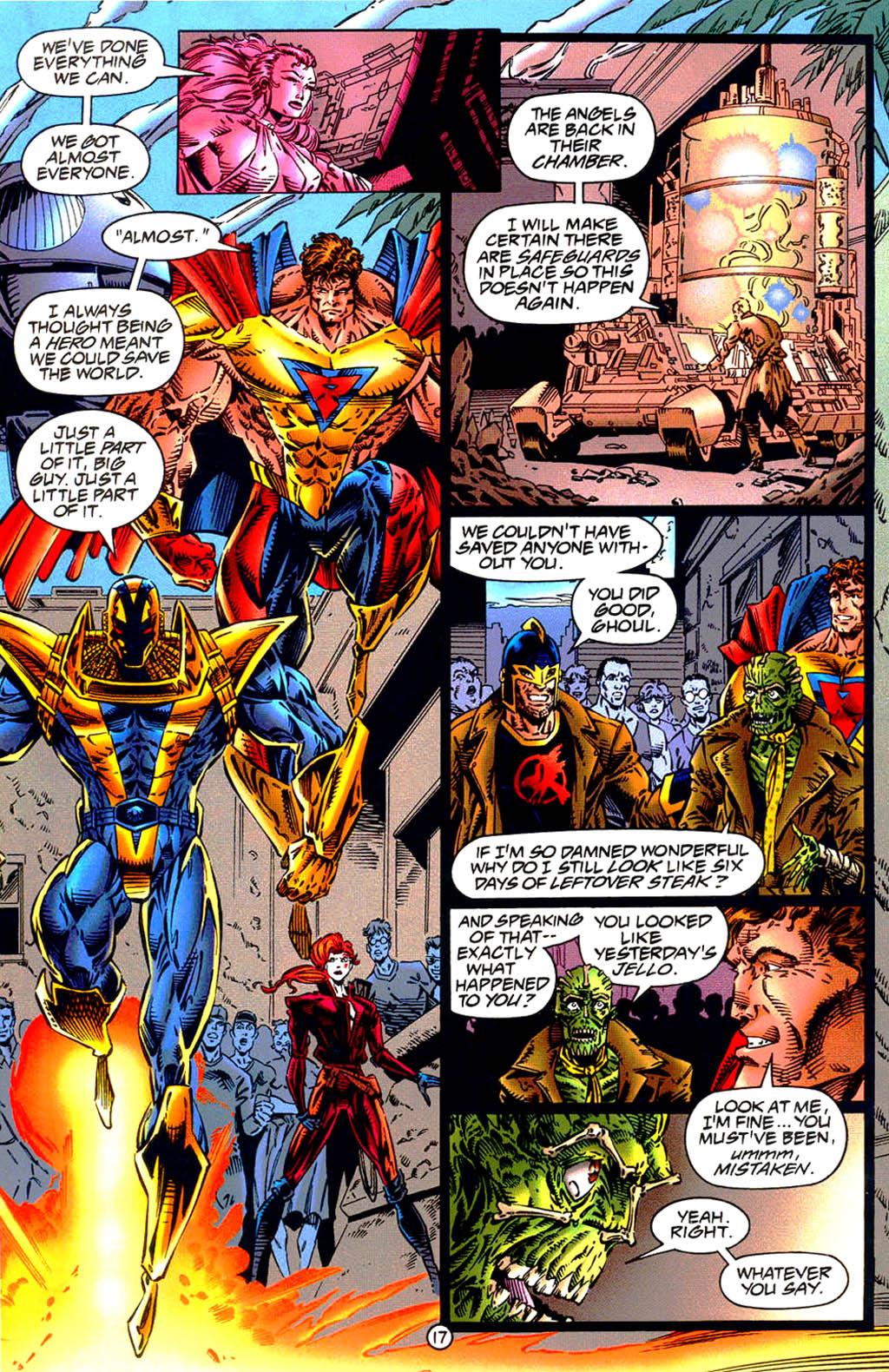 Read online UltraForce (1994) comic -  Issue #9 - 18