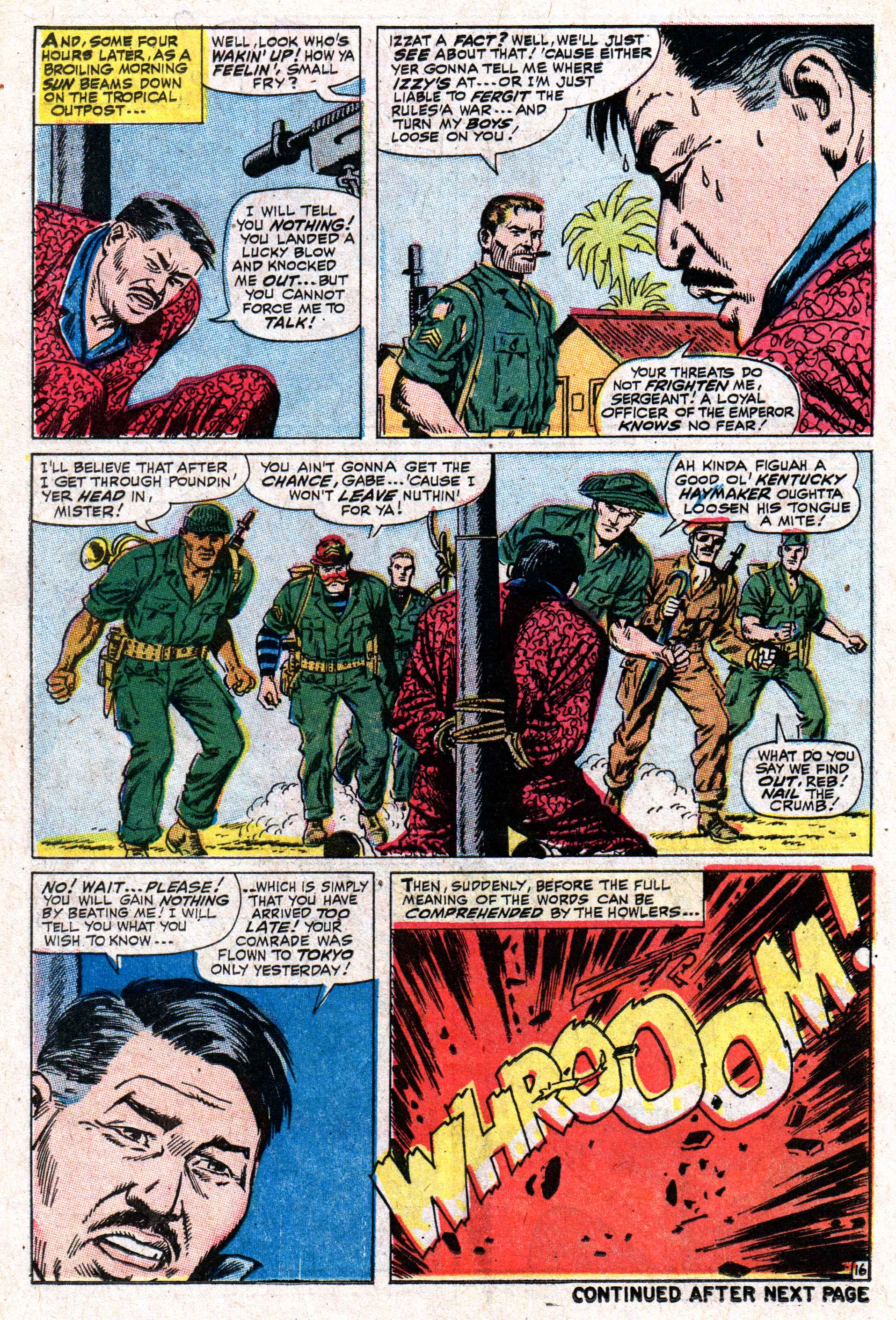 Read online Sgt. Fury comic -  Issue #50 - 22