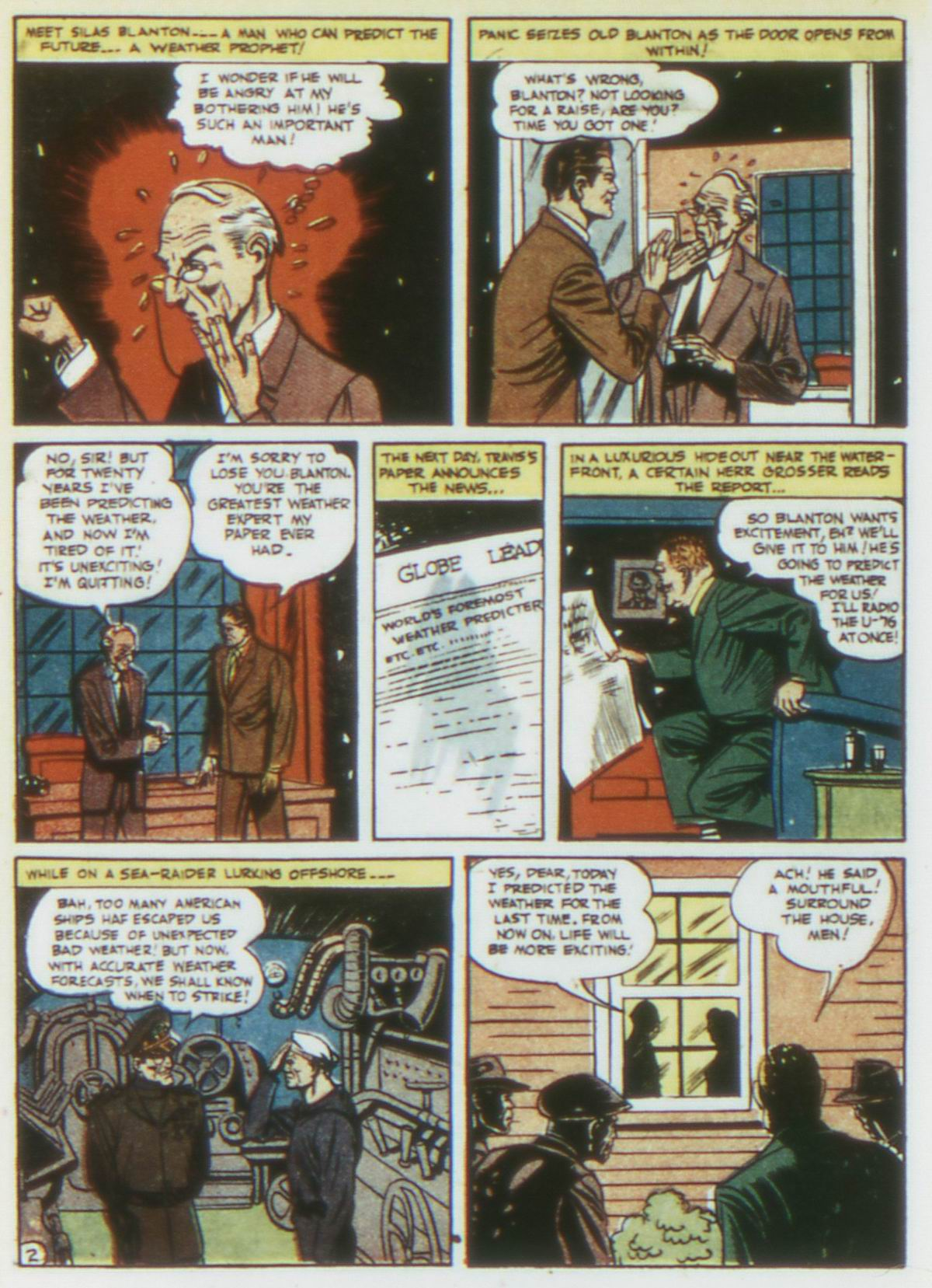 Read online Detective Comics (1937) comic -  Issue #75 - 32