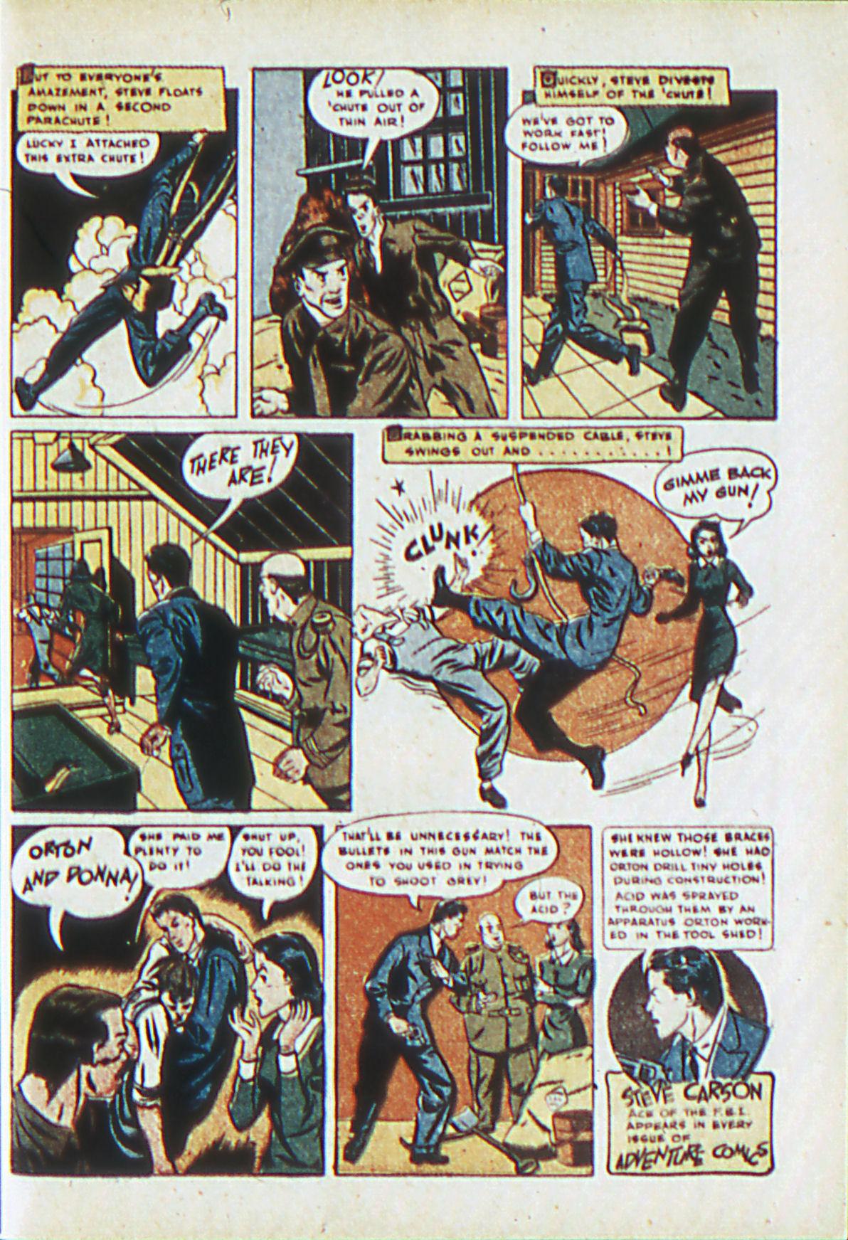Read online Adventure Comics (1938) comic -  Issue #62 - 24